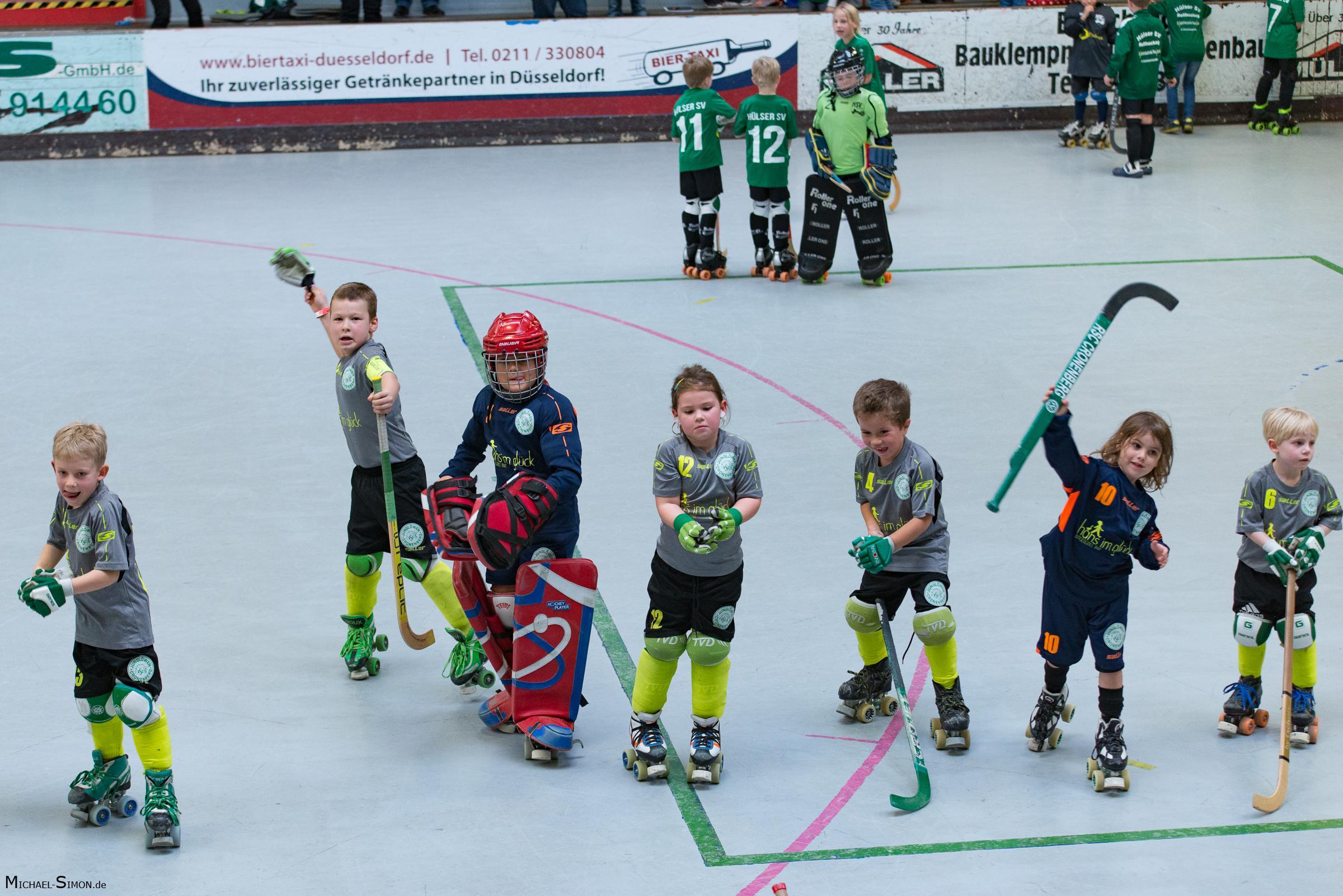 RSC Cronenberg Rollhockey Spieltag U9 12.11.2017