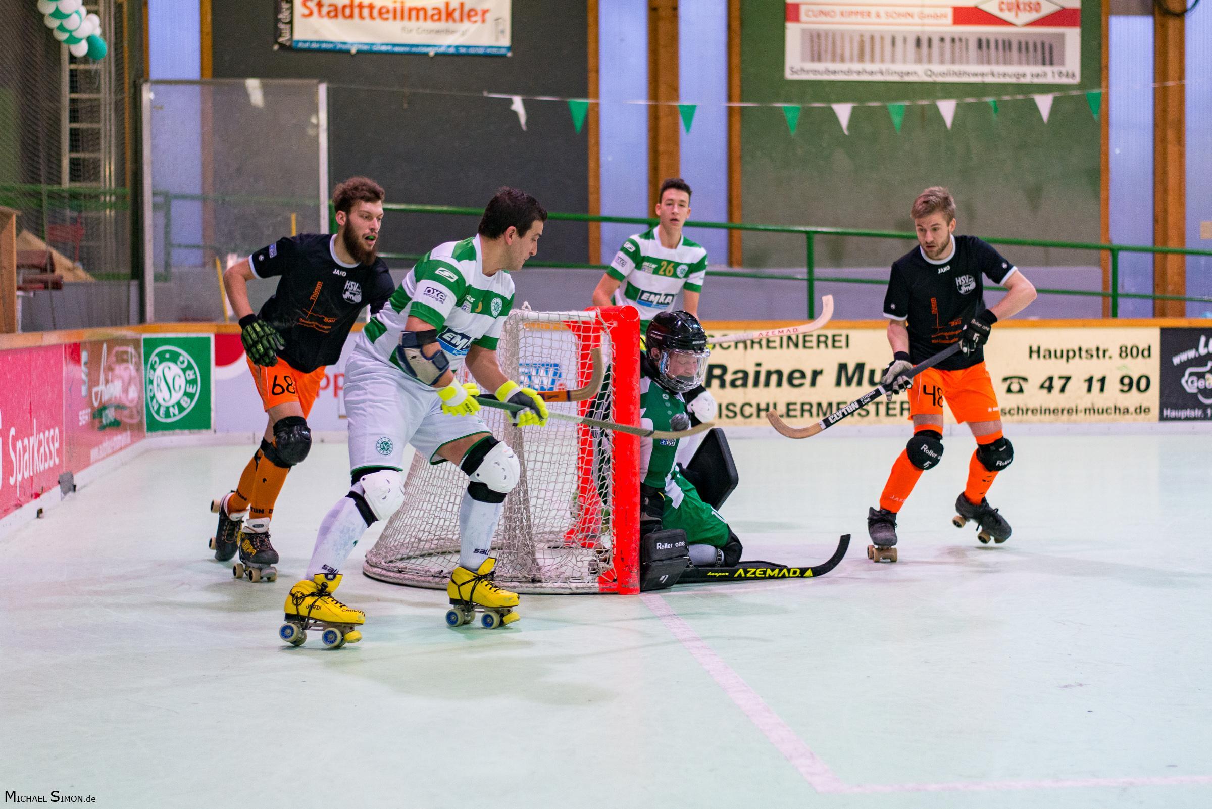 RSC Cronenberg Rollhockey Spieltag Bundesliga Herren 18.11.2017