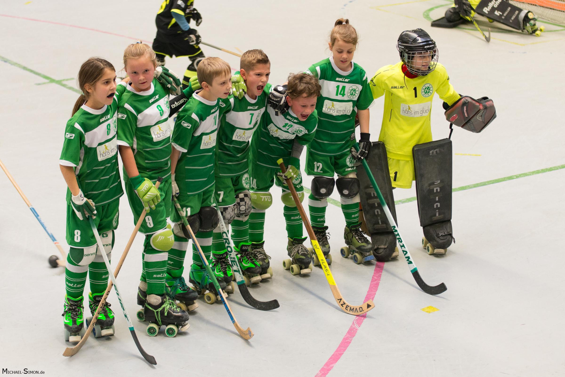 RSC Cronenberg Rollhockey Spieltag U11 03.12.2017