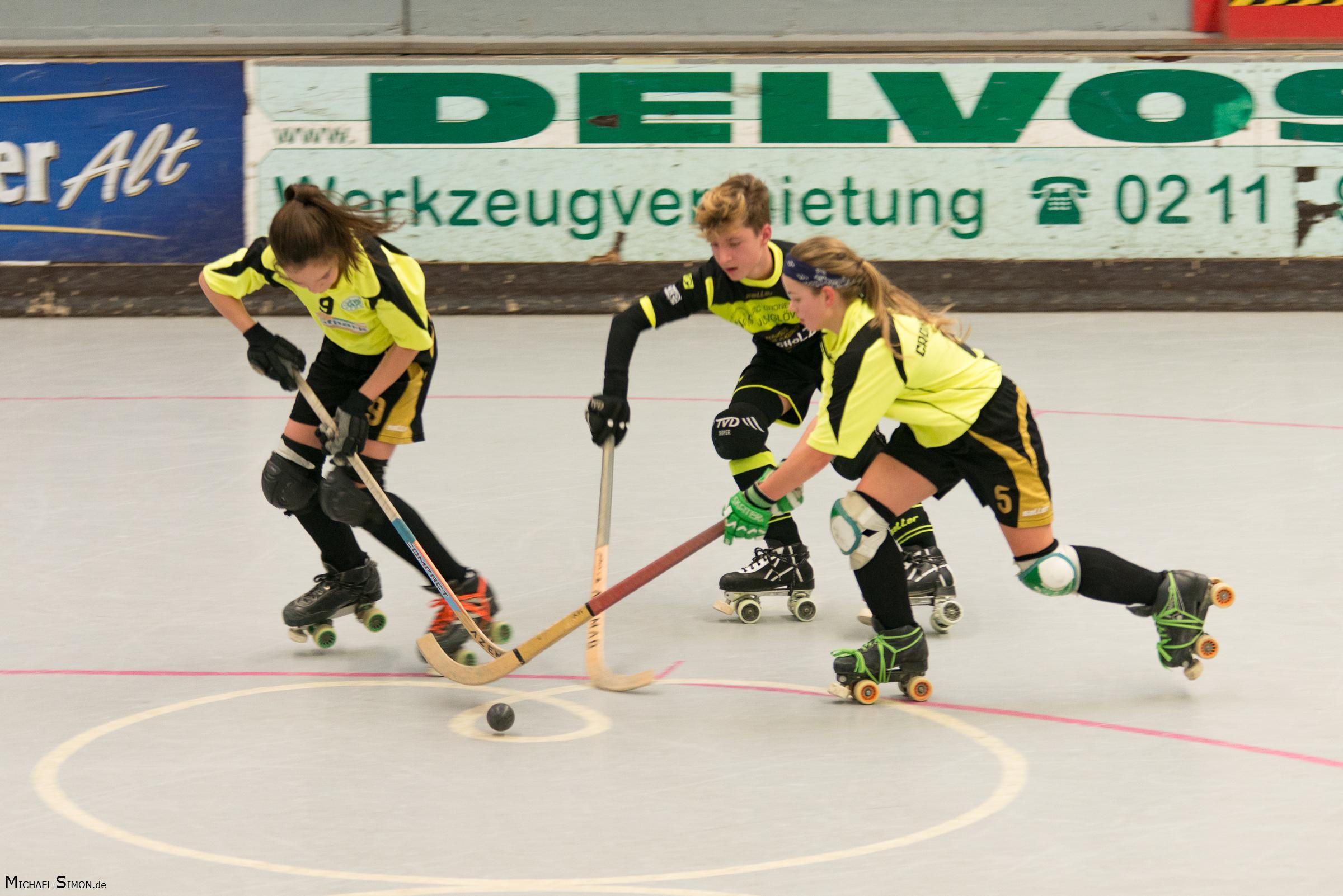 RSC Cronenberg Rollhockey Spieltag U15 03.12.2017