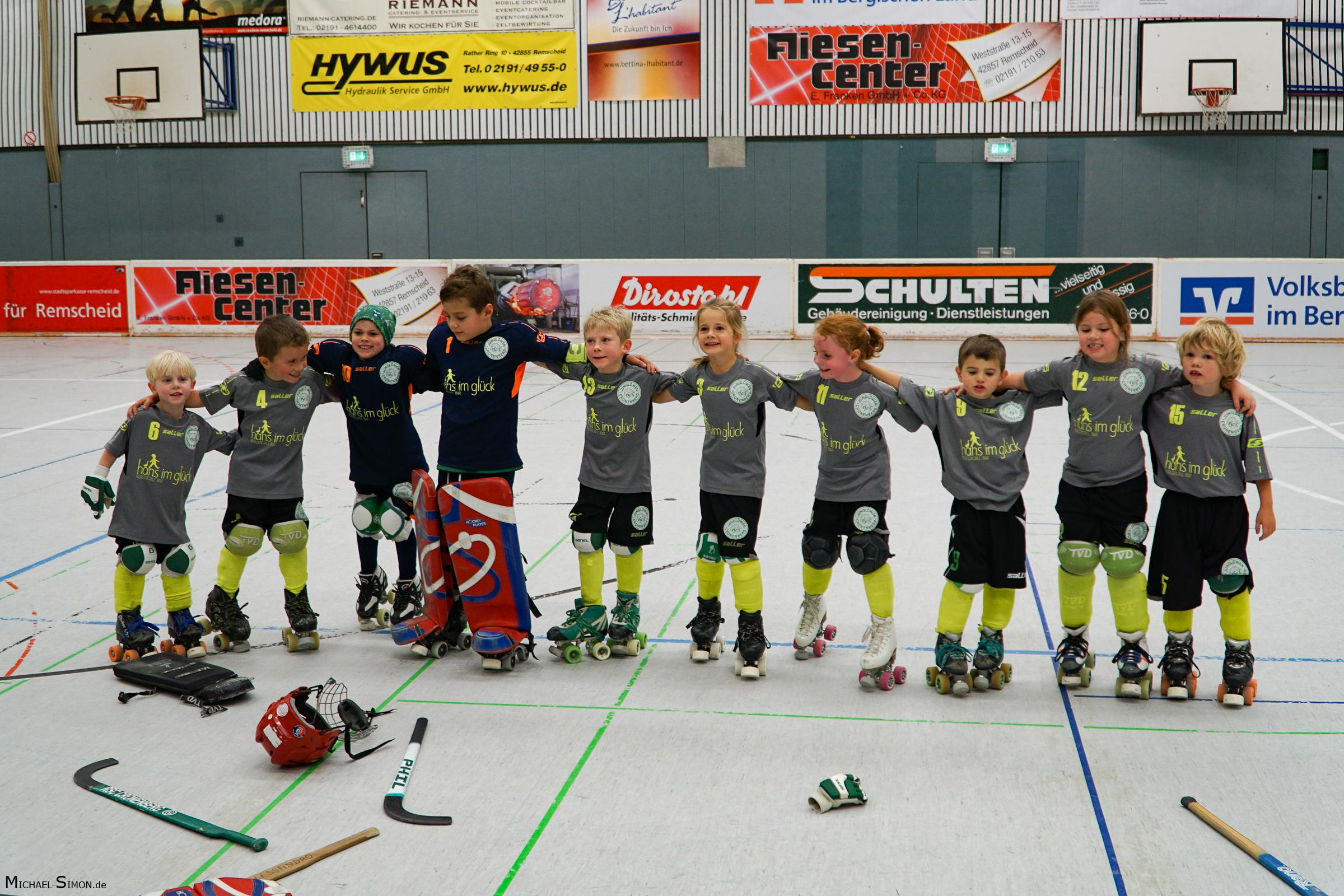 RSC Cronenberg Rollhockey Spieltag U9 08.10.2017