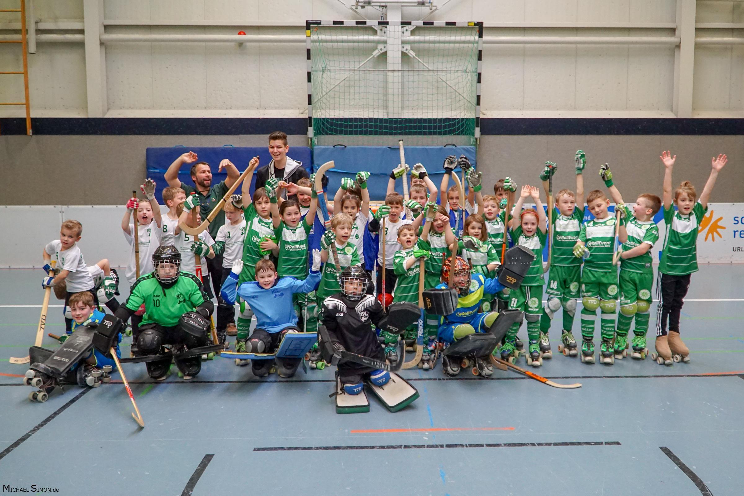 RSC Cronenberg Rollhockey Freundschaftsspiel HSV Krefeld 18.02.2017