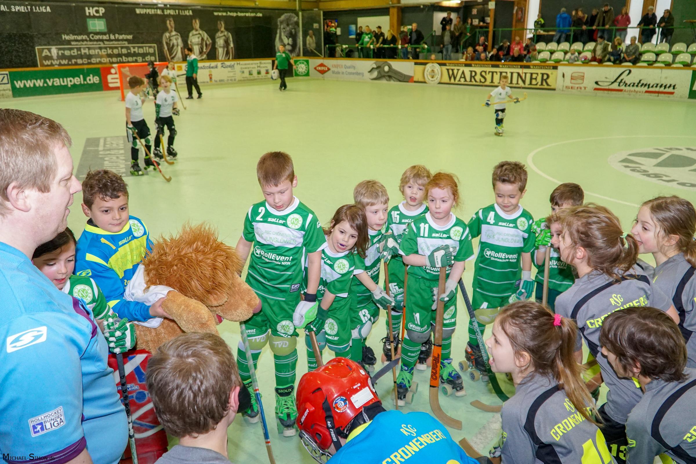 RSC Cronenberg Rollhockey Spieltag U9 19.03.2017