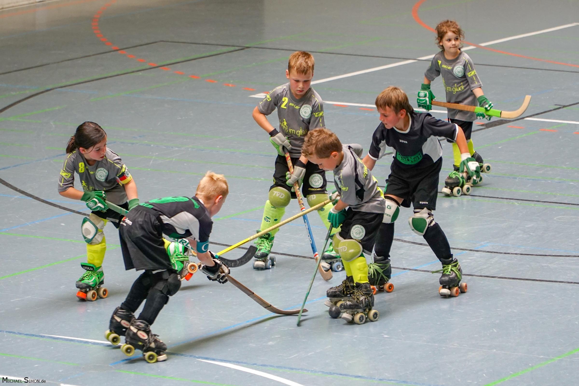 RSC Cronenberg Rollhockey Spieltag U9 02.07.2017