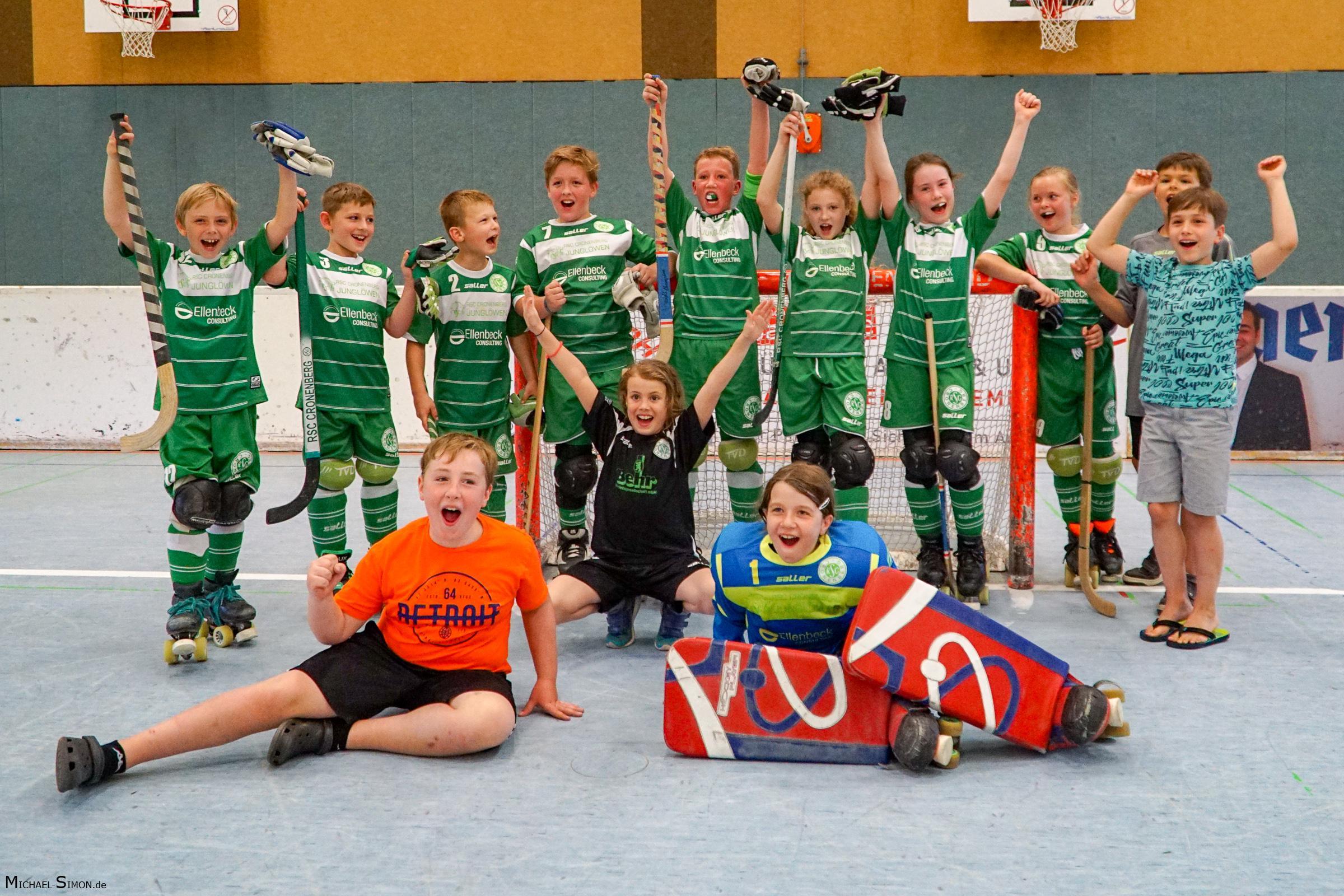 RSC Cronenberg Rollhockey Spieltag U11 02.07.2017