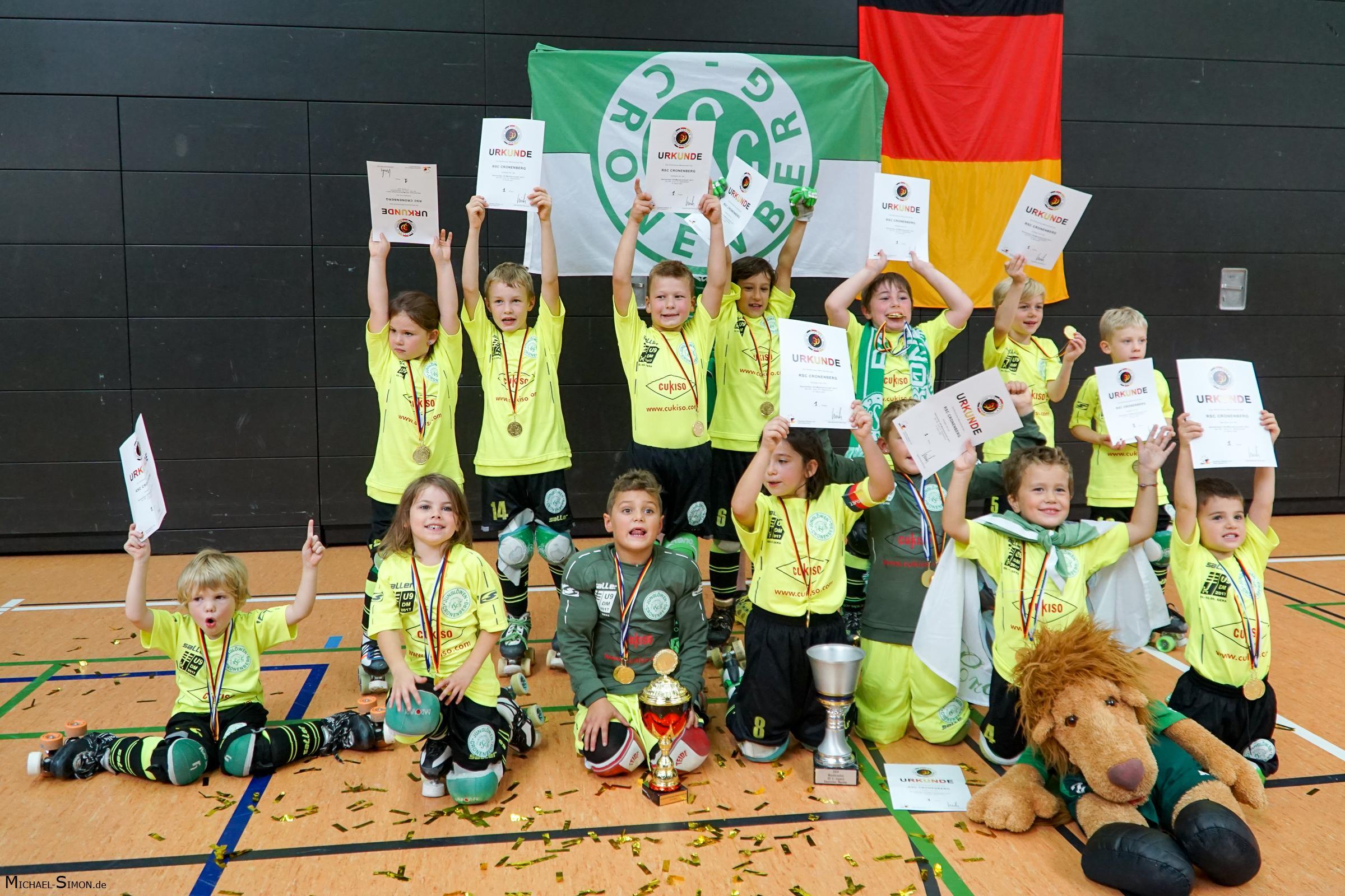 RSC Cronenberg Rollhockey Deutsche U9 Meisterschaft 2017