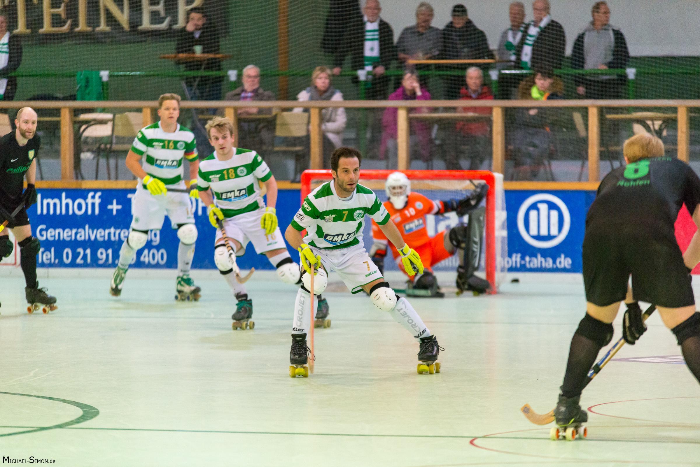 RSC Cronenberg Rollhockey Spieltag Bundesliga Herren 20.01.2018