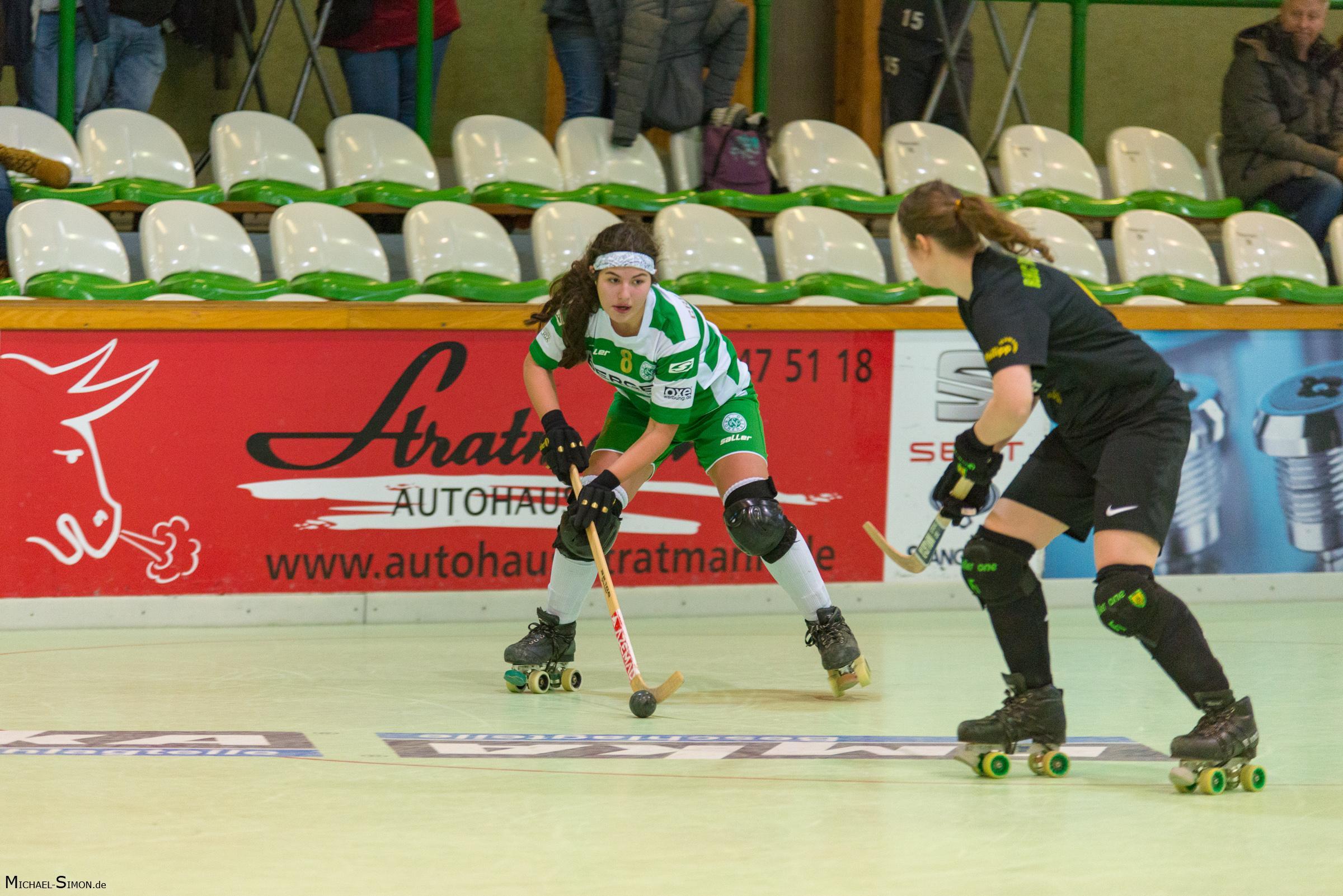 RSC Cronenberg Rollhockey Spieltag Bundesliga Damen 20.01.2018
