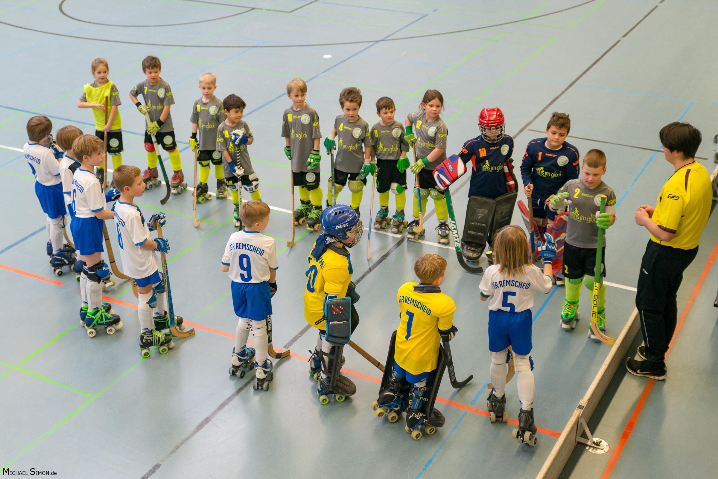 RSC Cronenberg Rollhockey Spieltag U9 28.01.2018