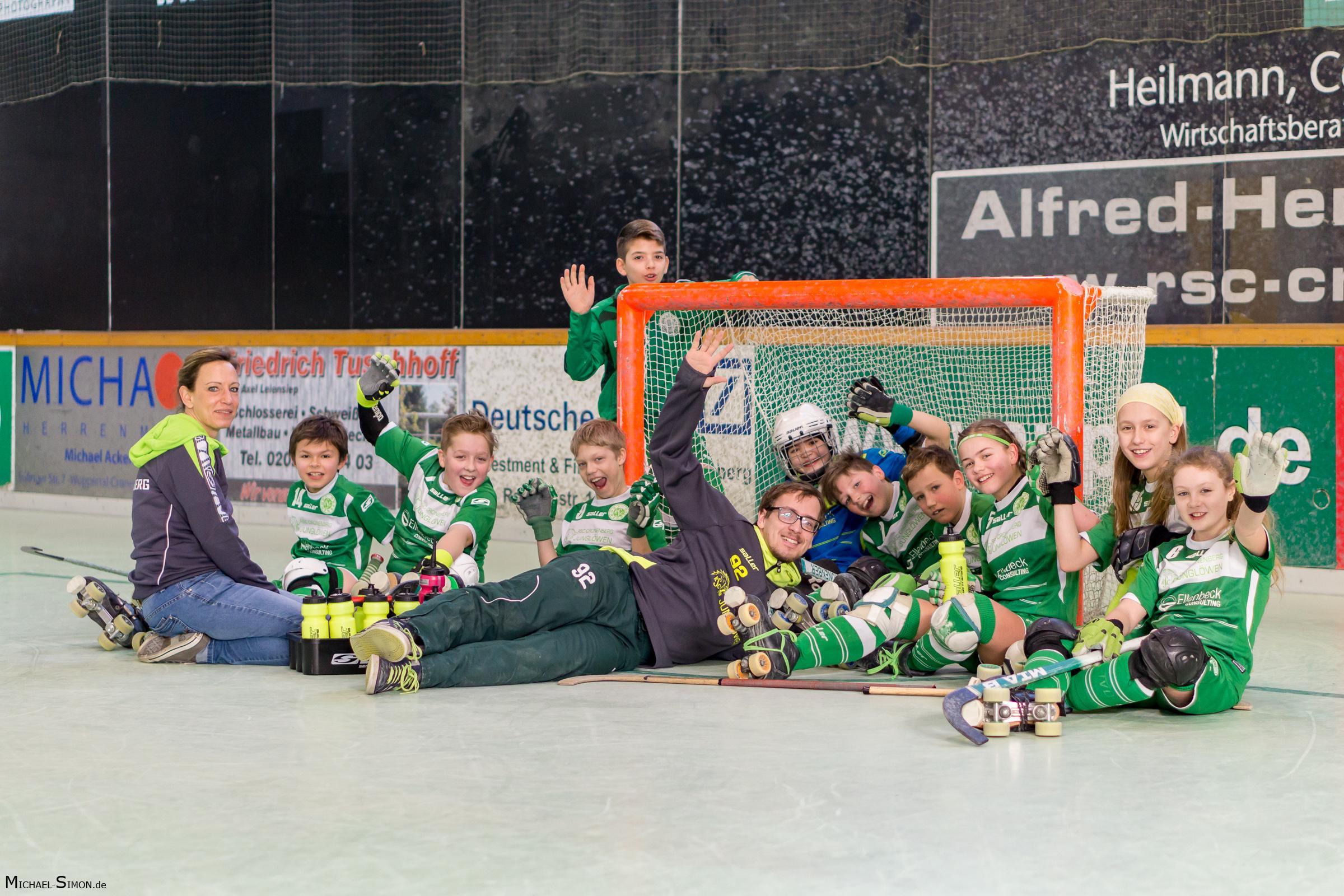 RSC Cronenberg Rollhockey Spieltag U13 18.02.2018