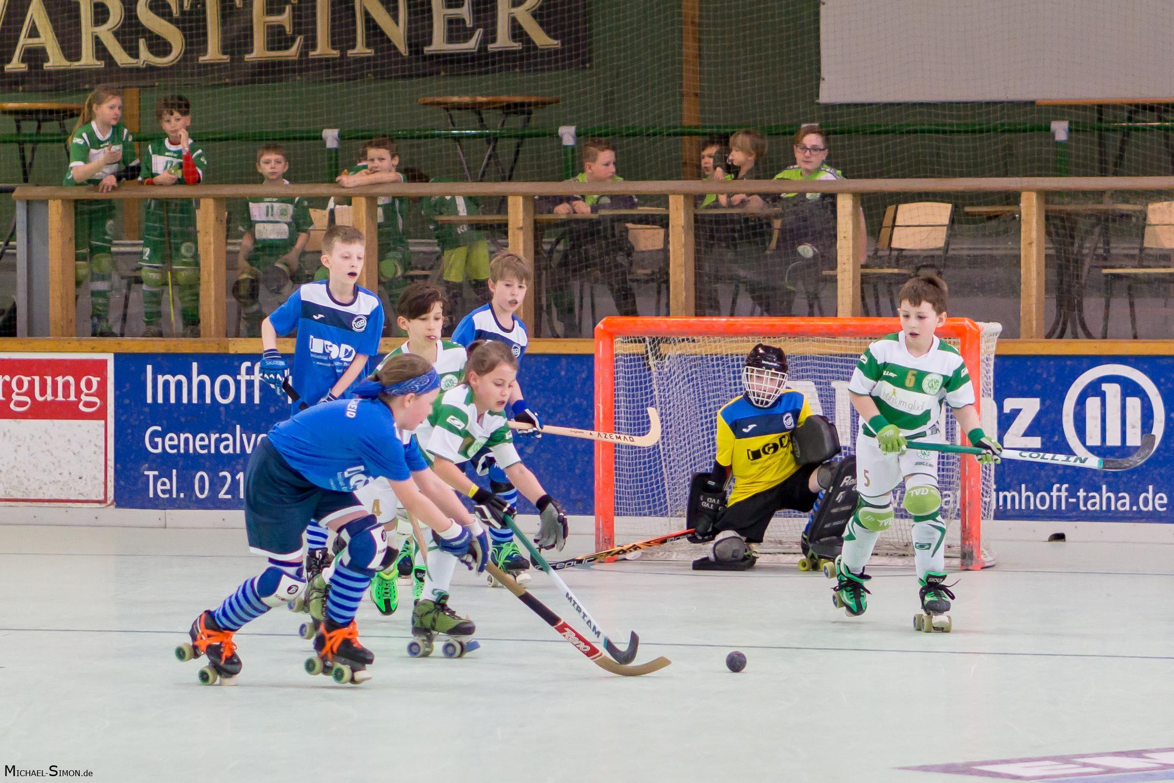 RSC Cronenberg Rollhockey Spieltag U11 11.03.2018
