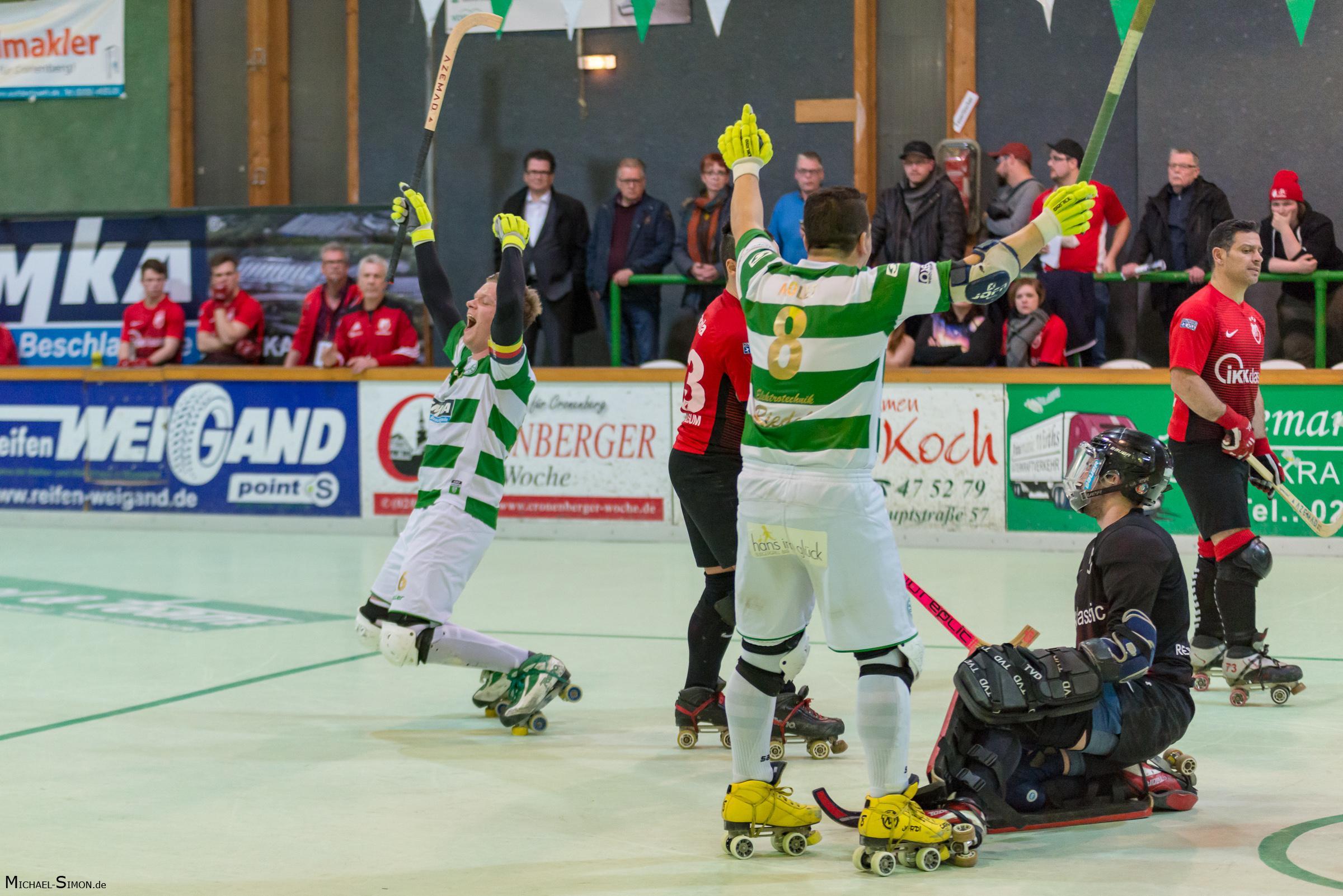 RSC Cronenberg Spieltag Bundesliga Herren 06.03.2018