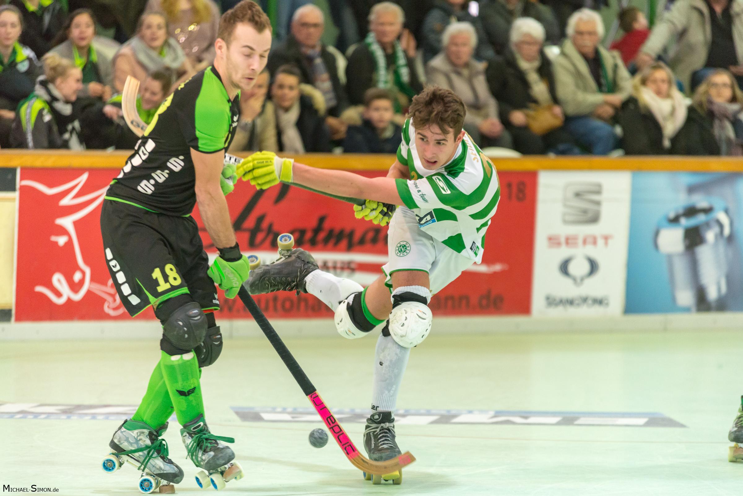 RSC Cronenberg Rollhockey Bundesliga Herren Spieltag 17.03.2018