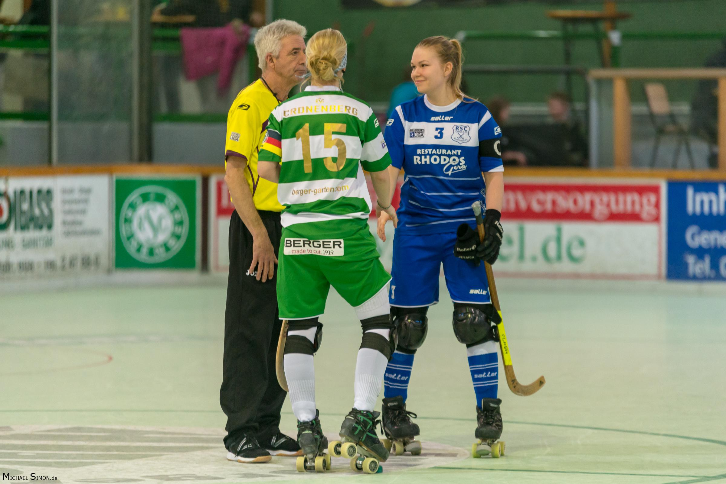 RSC Cronenberg Rollhockey Bundesliga Damen Spieltag 17.03.2018