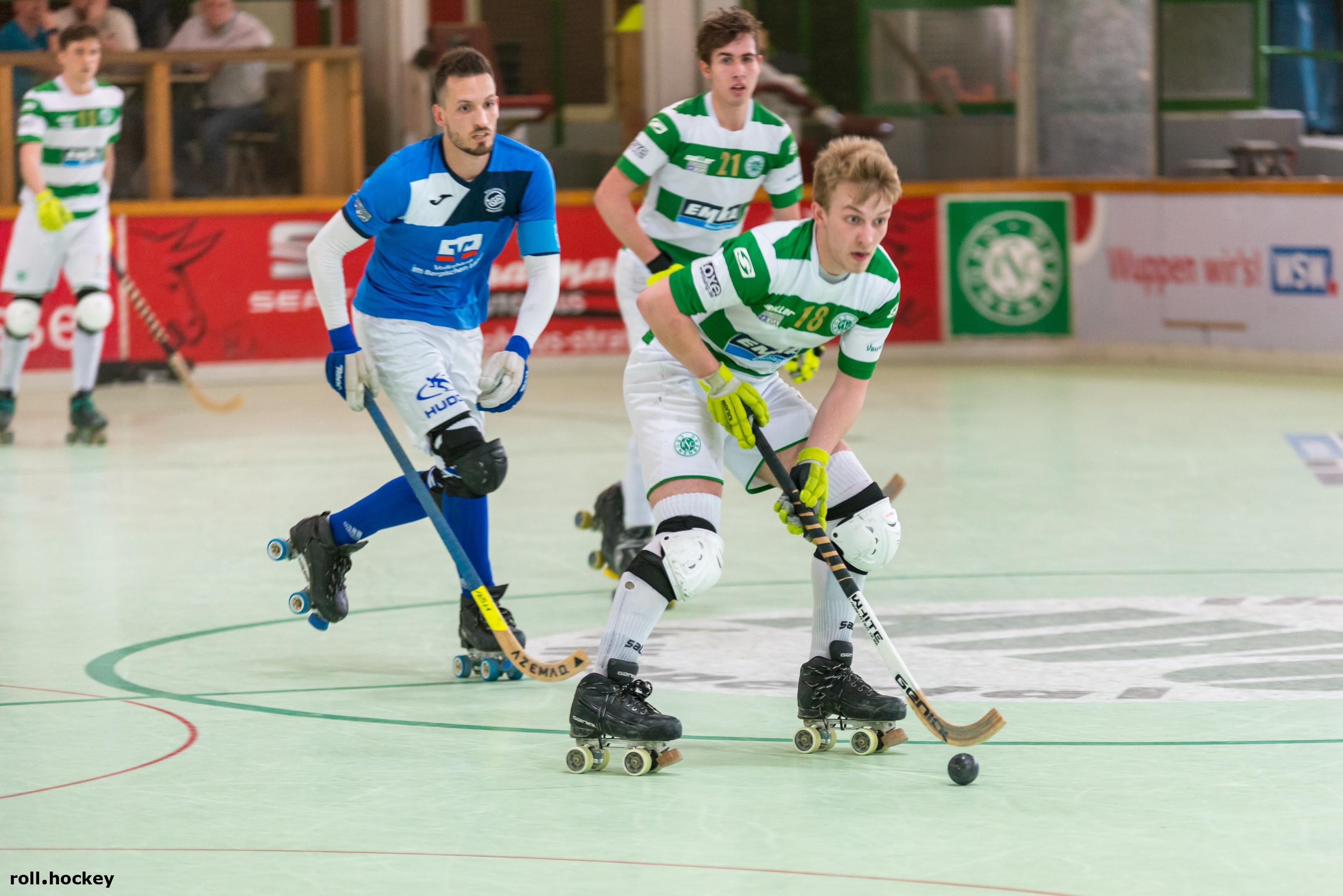 RSC Cronenberg Rollhockey Bundesliga Herren Spieltag 14.04.2018