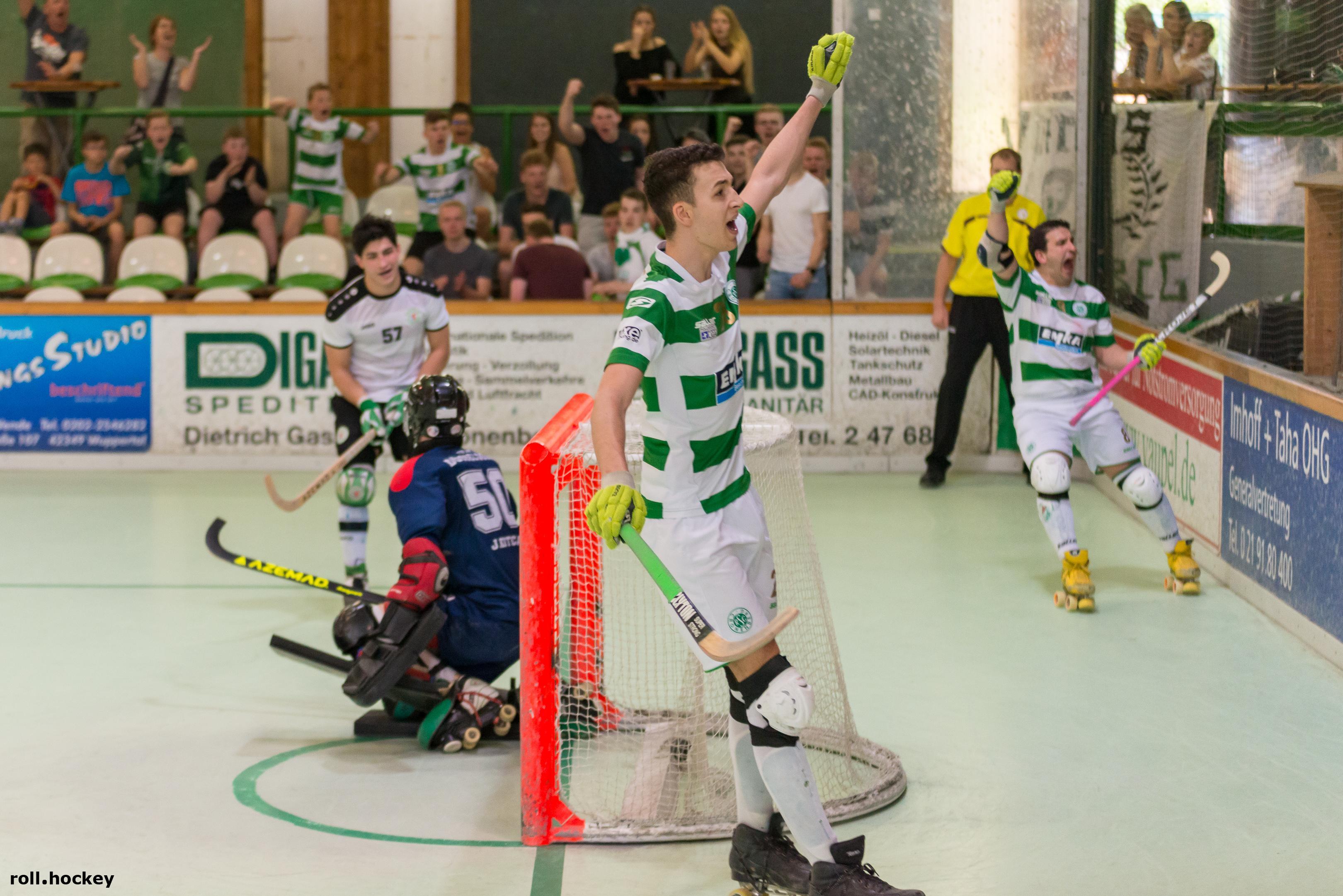 RSC Cronenberg Rollhockey Bundesliga Herren Spieltag 21.04.2018