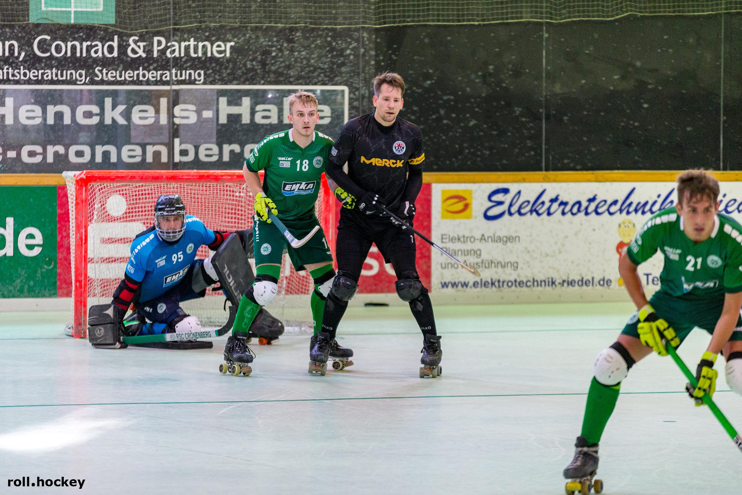 RSC Cronenberg Rollhockey Bundesliga Herren Spieltag 13.10.2018