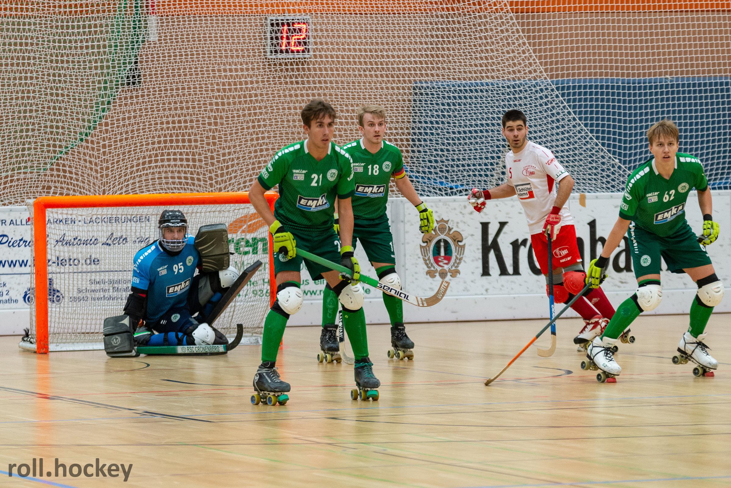 RSC Cronenberg Rollhockey Bundesliga Herren Spieltag 03.11.2018