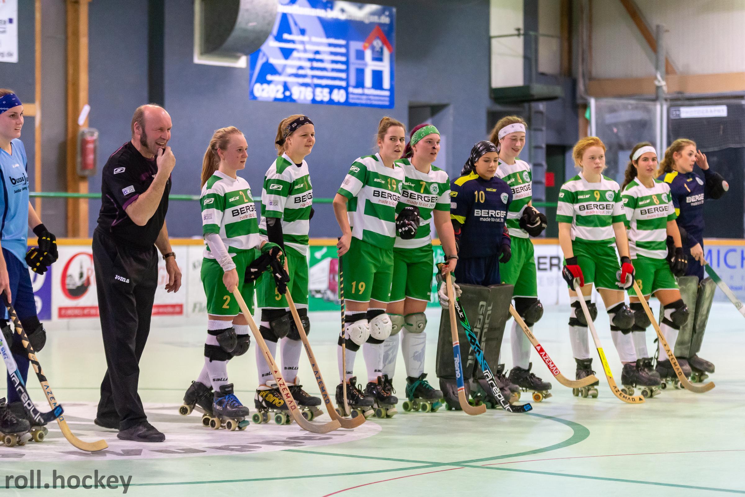 RSC Cronenberg Rollhockey Bundesliga Damen Spieltag 24.11.2018