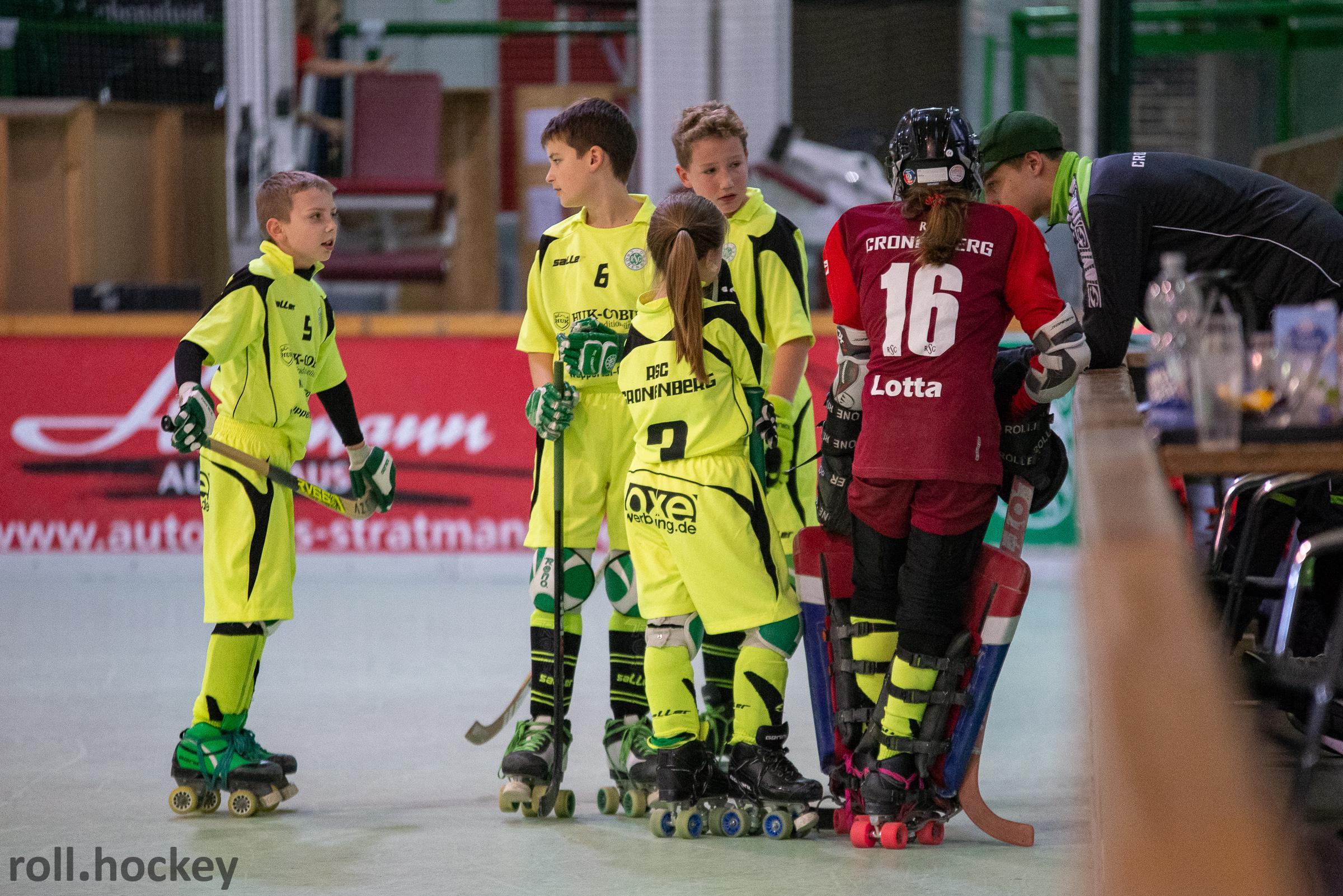 RSC Cronenberg Spieltag U13 02.12.2018