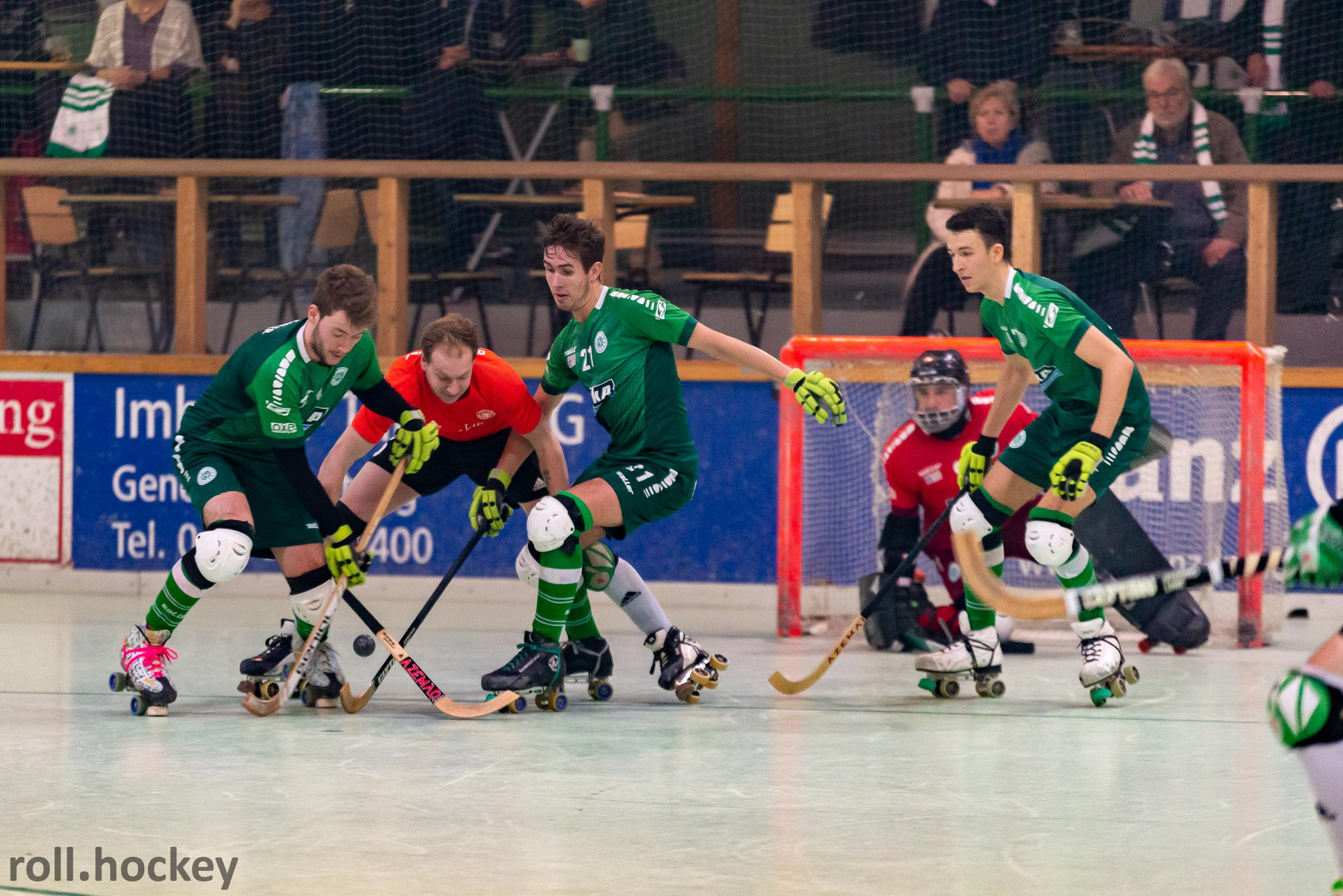 RSC Cronenberg Rollhockey Bundesliga Herren Spieltag 22.12.2018