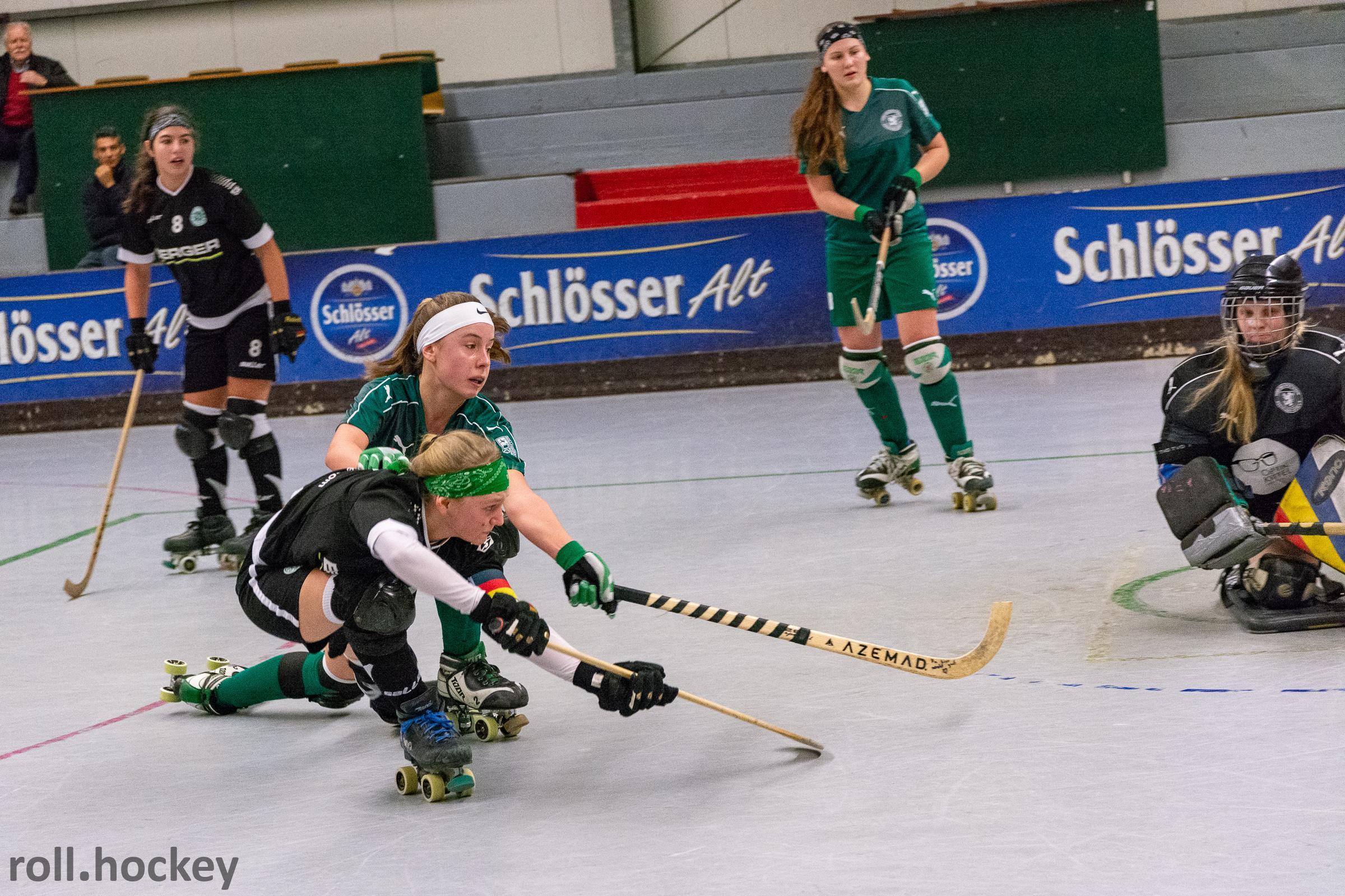 RSC Cronenberg Rollhockey Bundesliga Damen Spieltag 12.01.2019