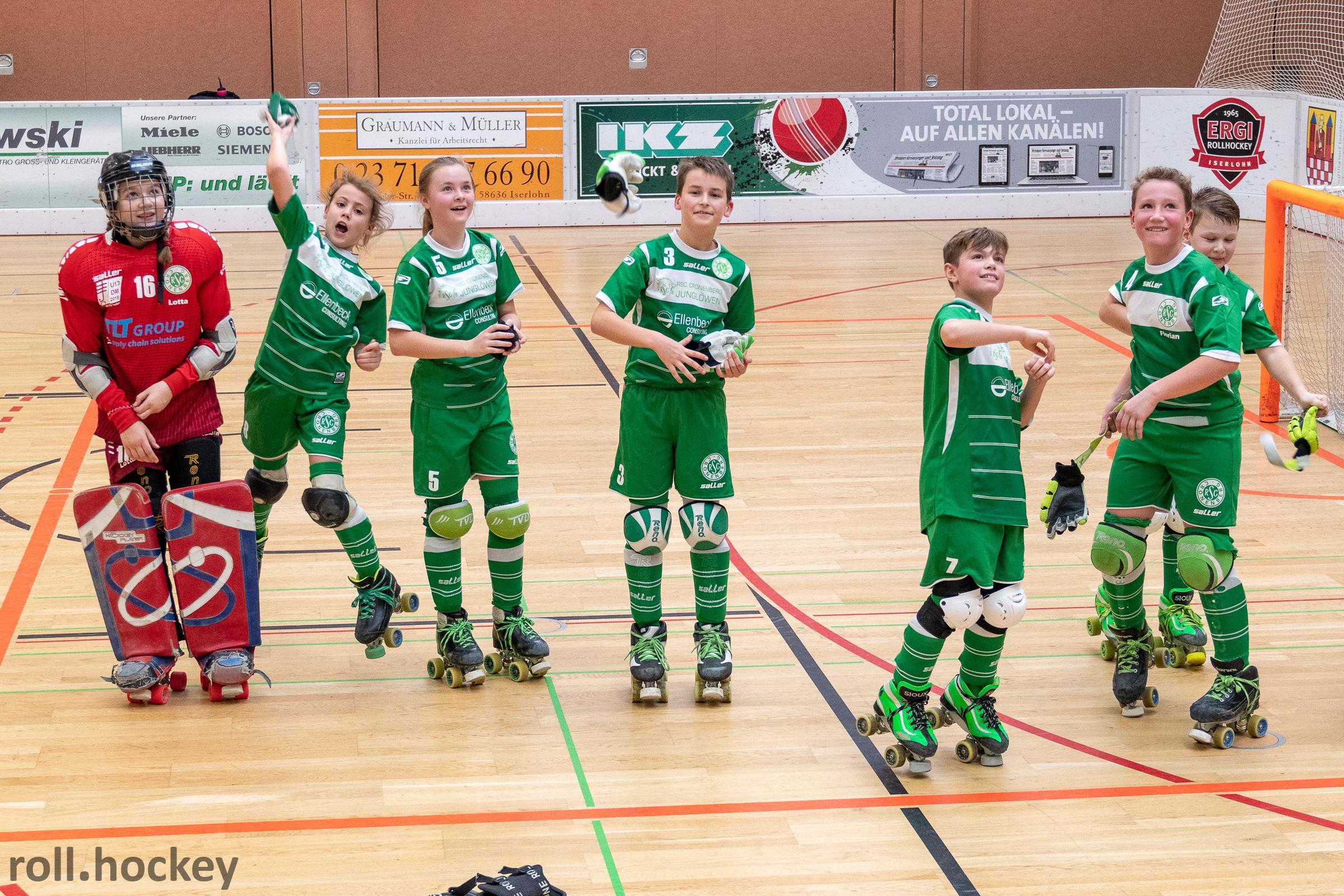 RSC Cronenberg Rollhockey Spieltag U13 20.01.2019