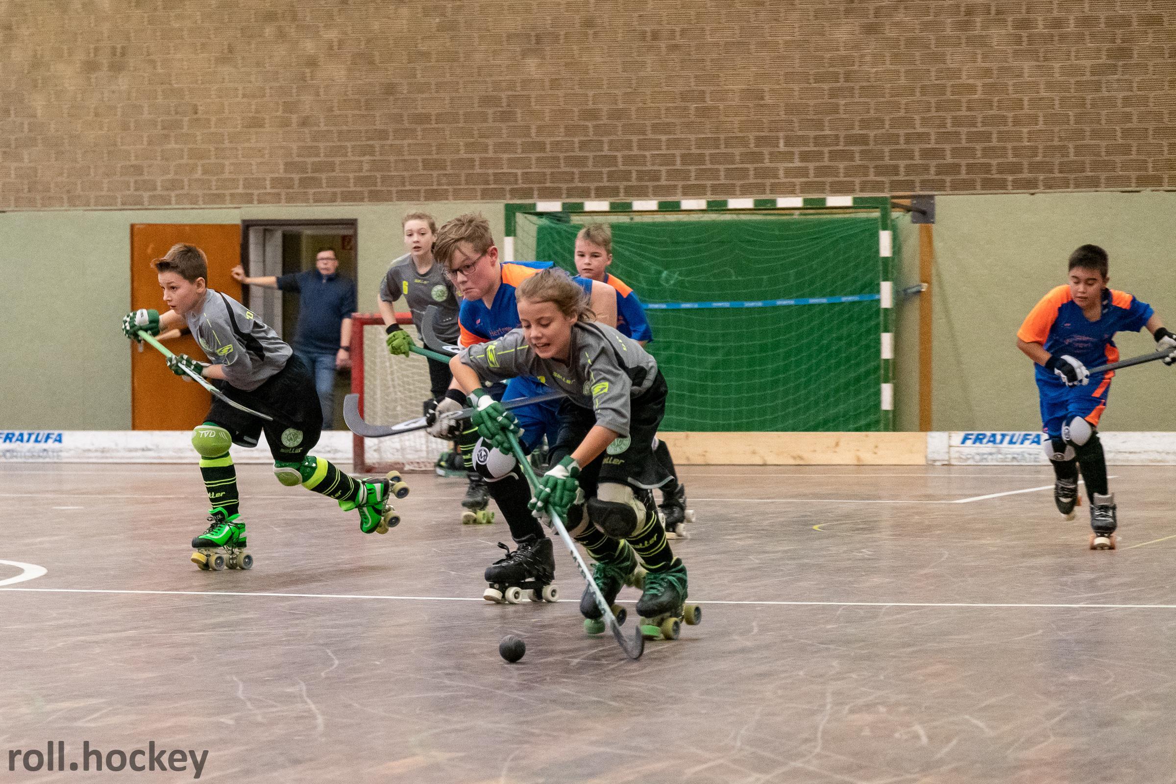 RSC Cronenberg Rollhockey Freundschaftsspiele U13 26.01.2019