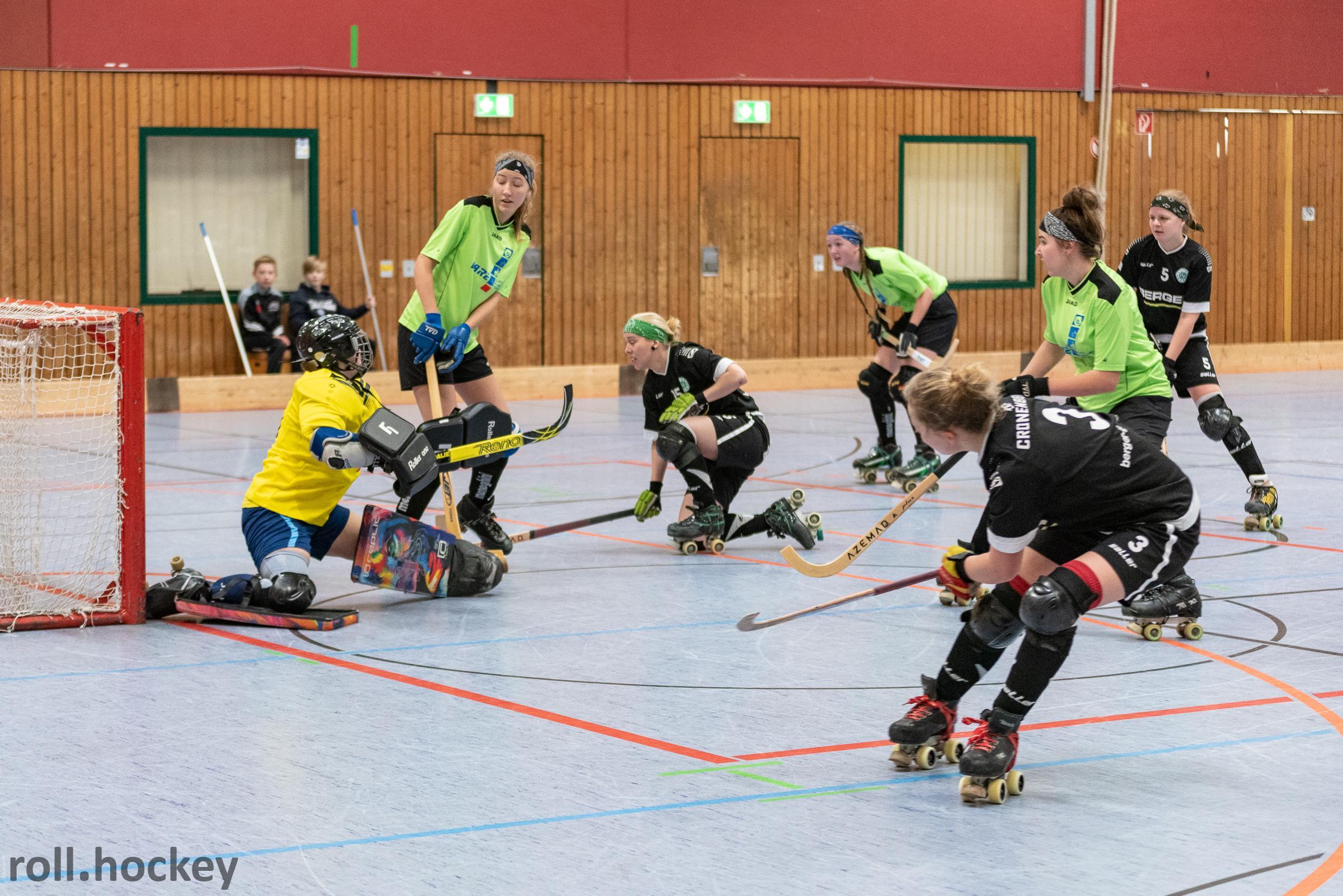 RSC Cronenberg Rollhockey Bundesliga Damen Spieltag 19.01.2019