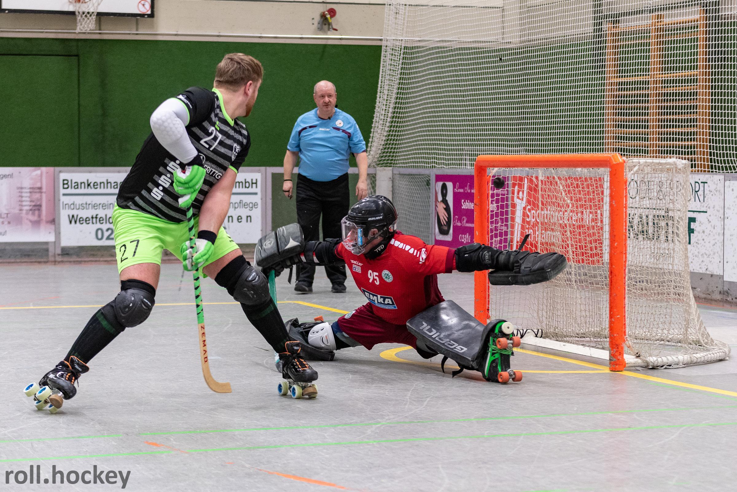 RSC Cronenberg Rollhockey Bundesliga Herren Spieltag 26.01.2019