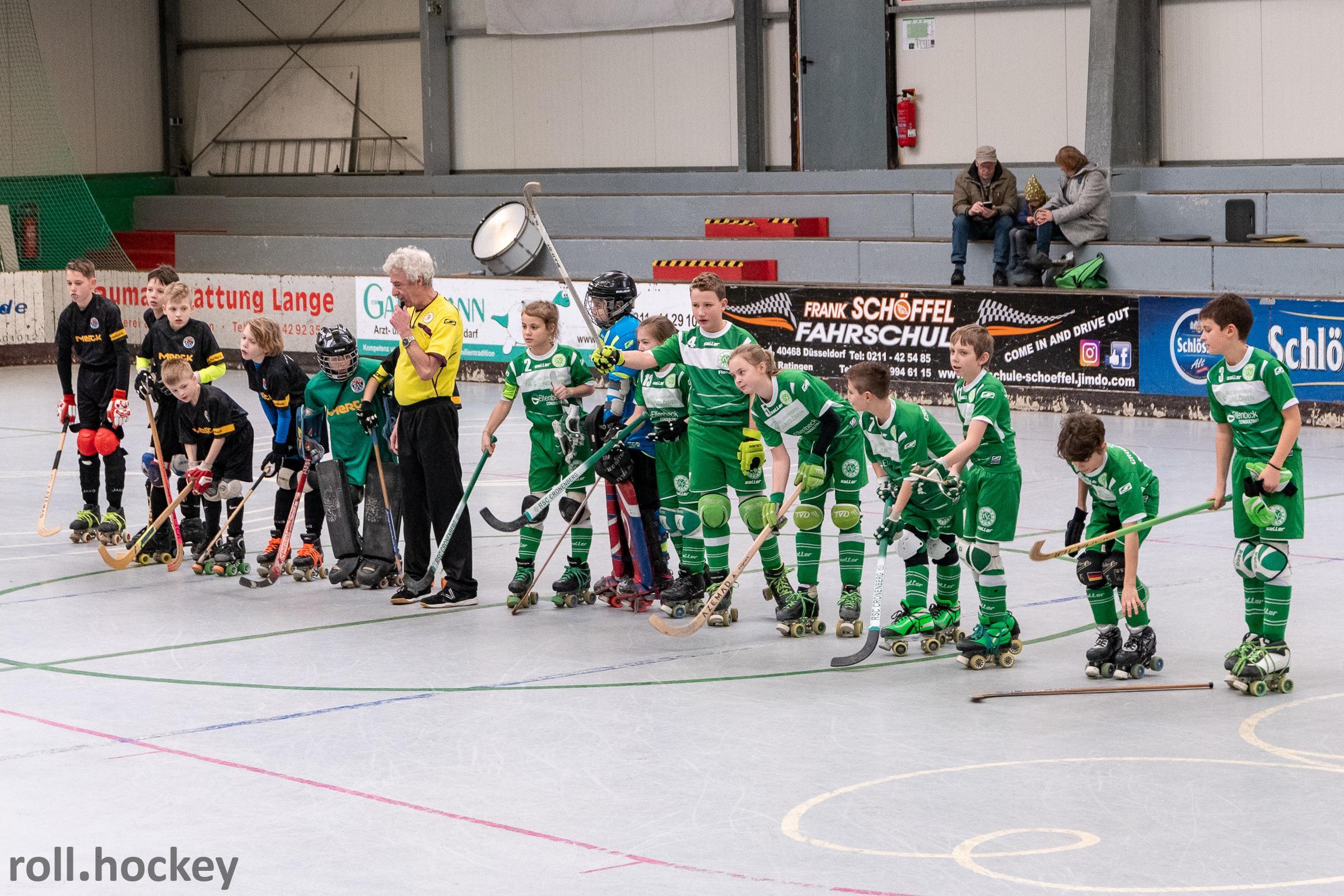 RSC Cronenberg Rollhockey Spieltag U13 10.02.2019
