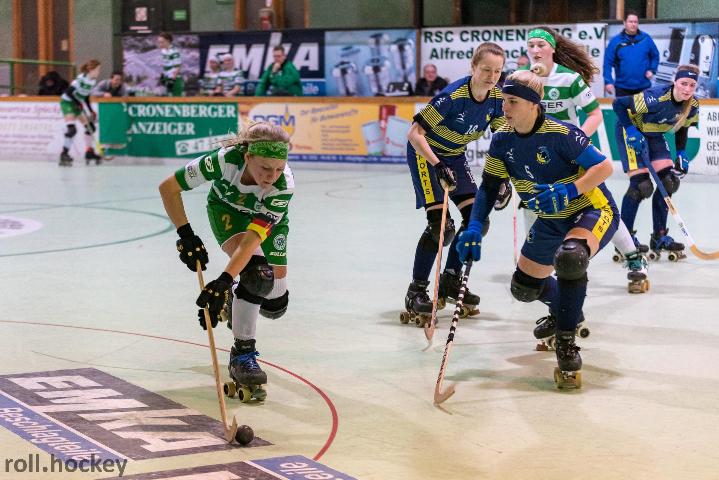 RSC Cronenberg Rollhockey Bundesliga Damen Spieltag 02.02.2019