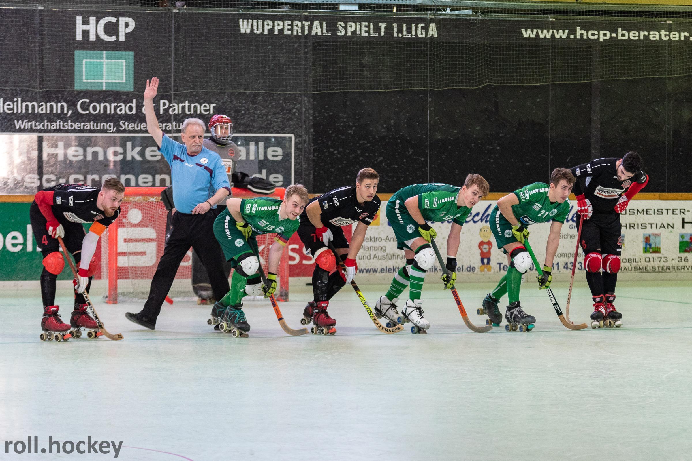 RSC Cronenberg Rollhockey Bundesliga Herren Spieltag 23.02.2019