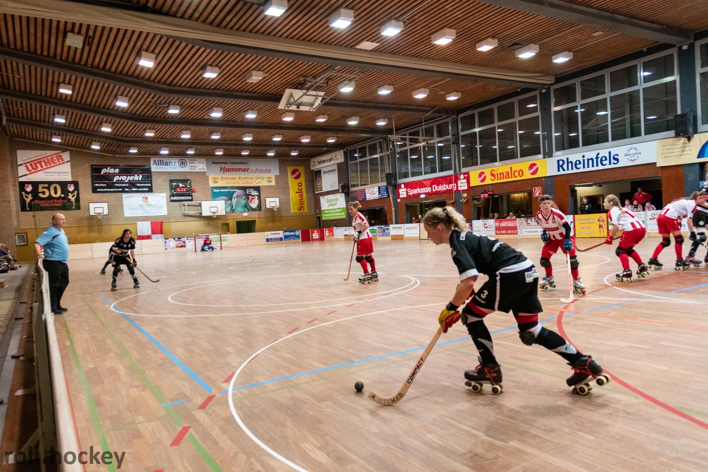 RSC Cronenberg Rollhockey Bundesliga Damen Spieltag 23.03.2019