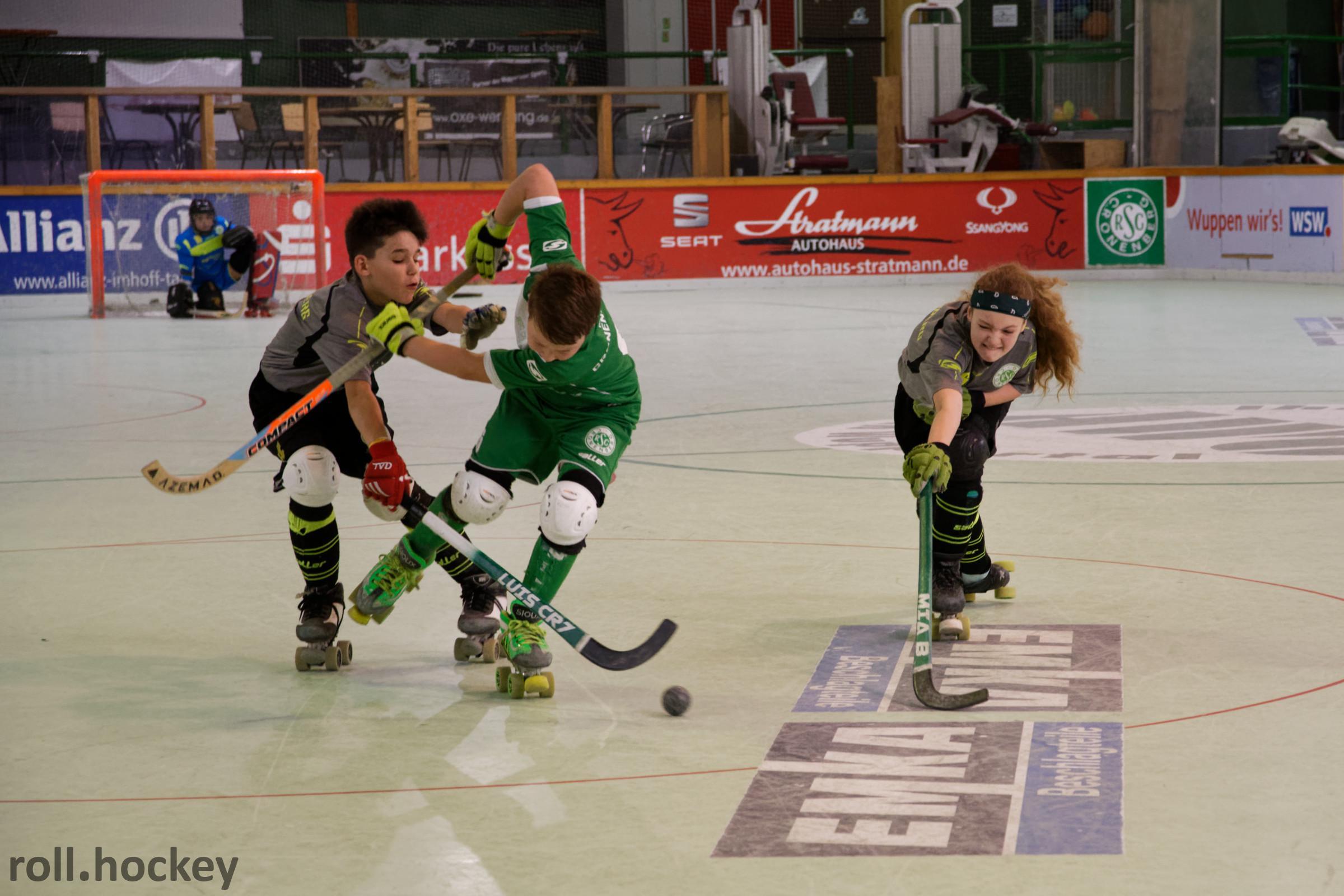 RSC Cronenberg Rollhockey Spieltag U13 31.03.2019