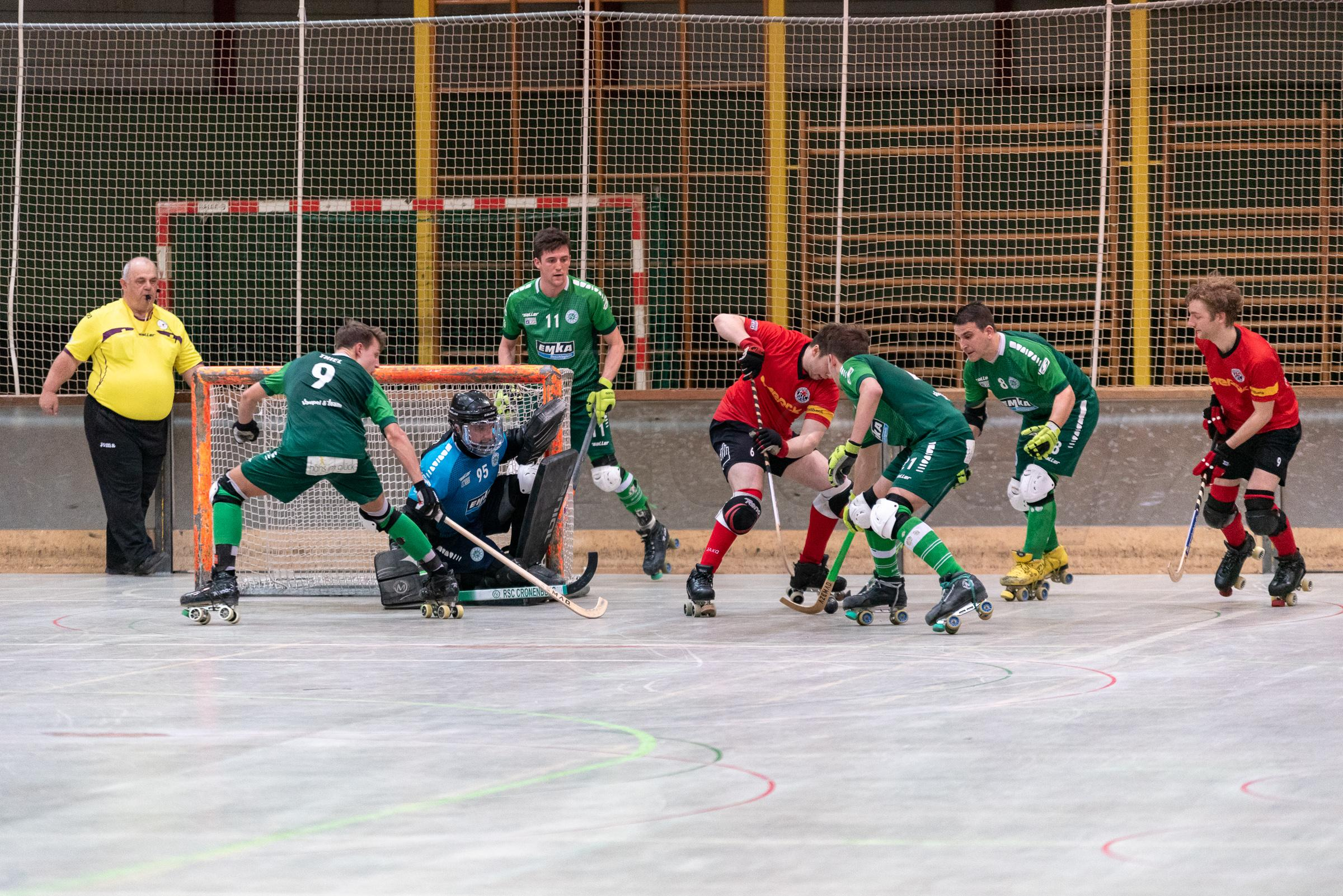RSC Cronenberg Rollhockey DRIV-Pokal Halbfinale Herren 30.03.2019