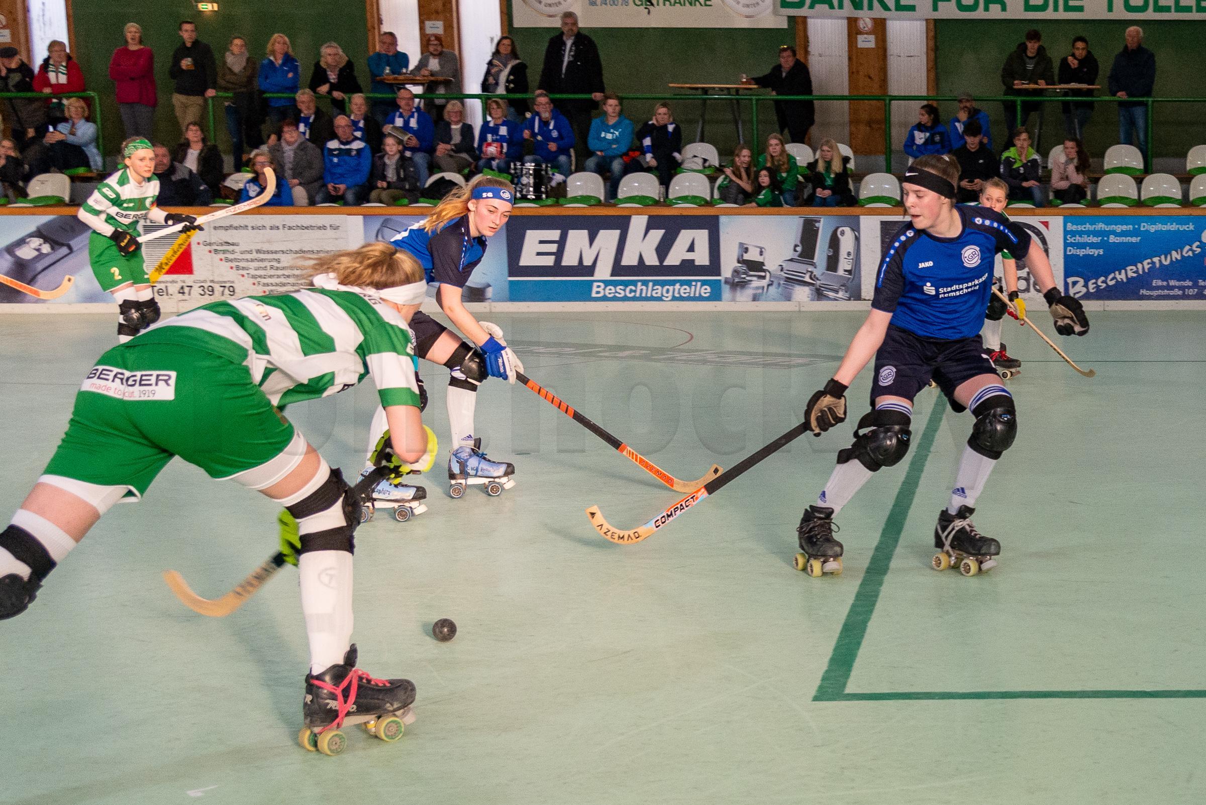 RSC Cronenberg Rollhockey Bundesliga Damen Play-Off-Halbfinale 13.04.2019