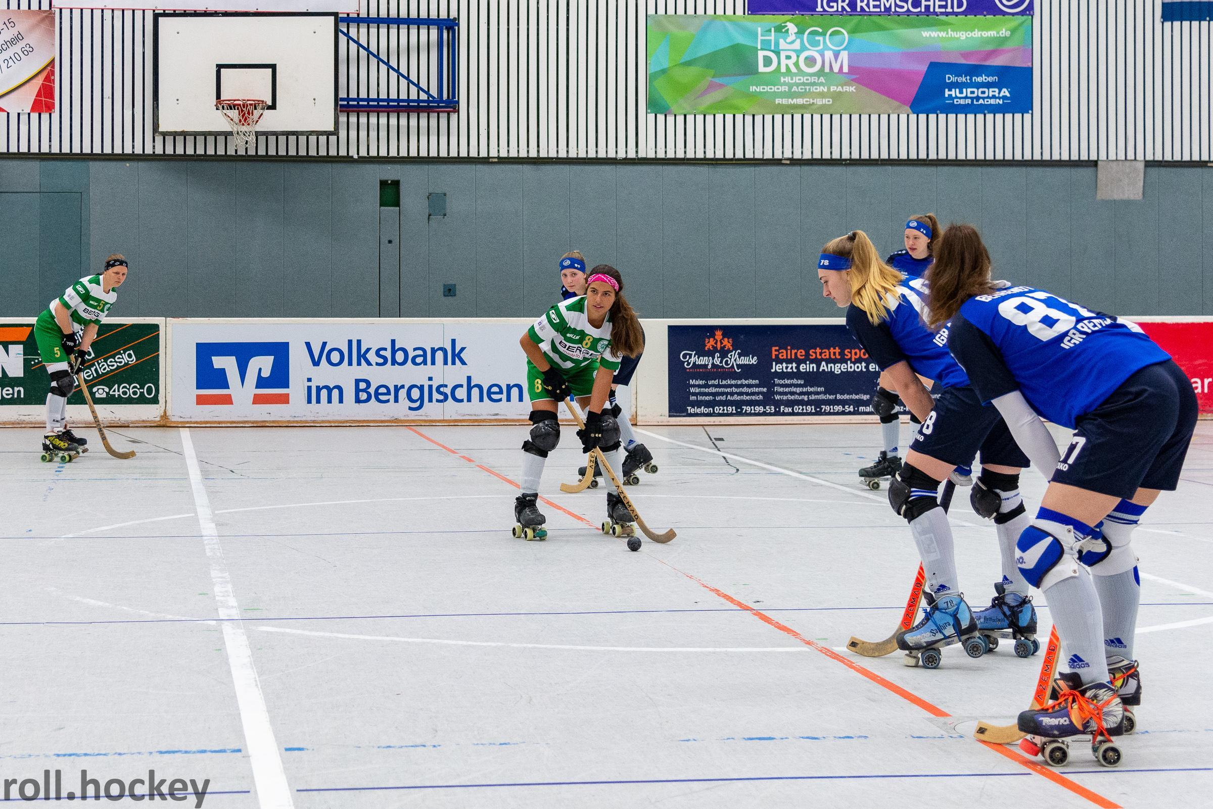 RSC Cronenberg Rollhockey Bundesliga Damen Play-Off-Halbfinale 27.04.2019