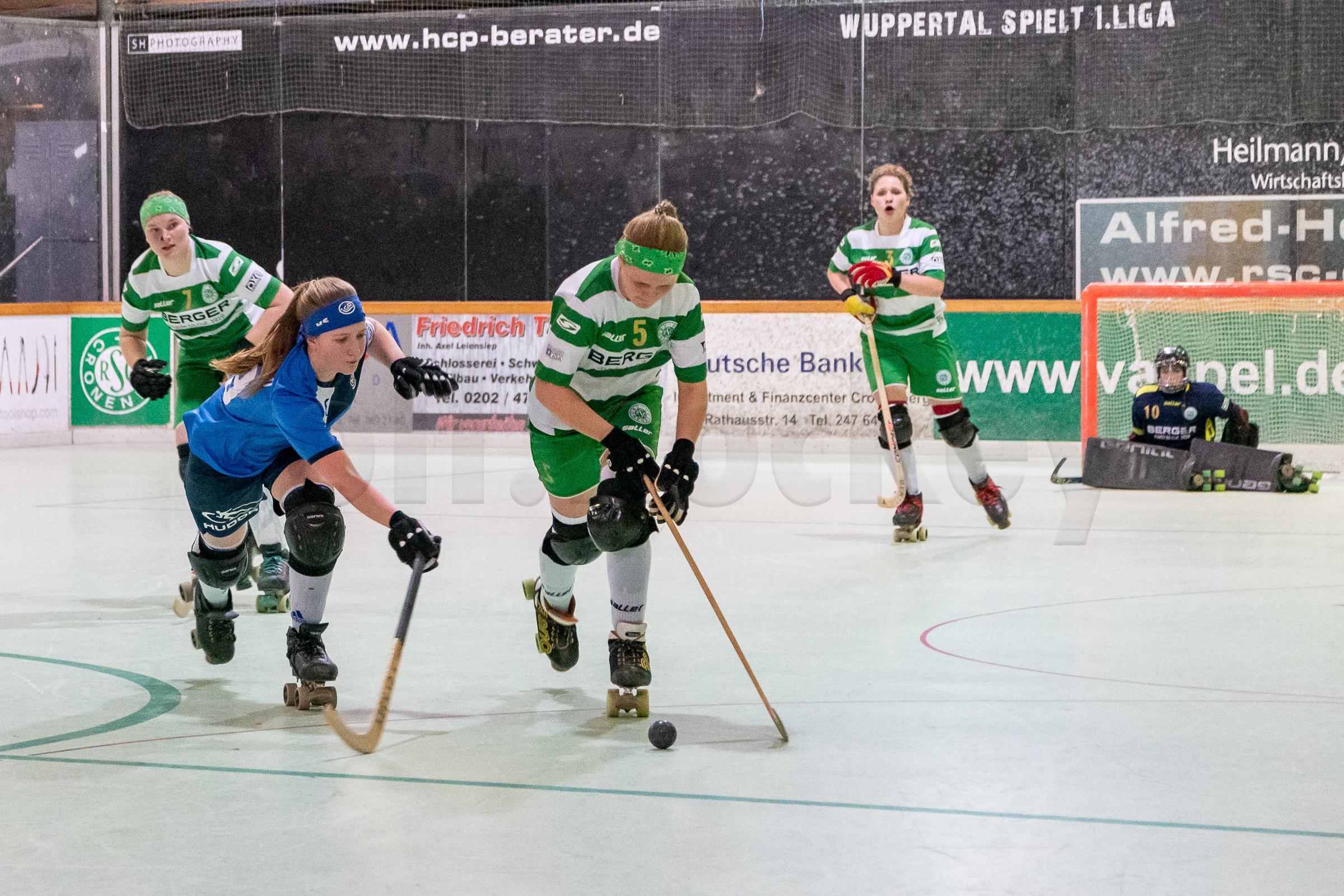 RSC Cronenberg Rollhockey Bundesliga Damen Spieltag 29.03.2019