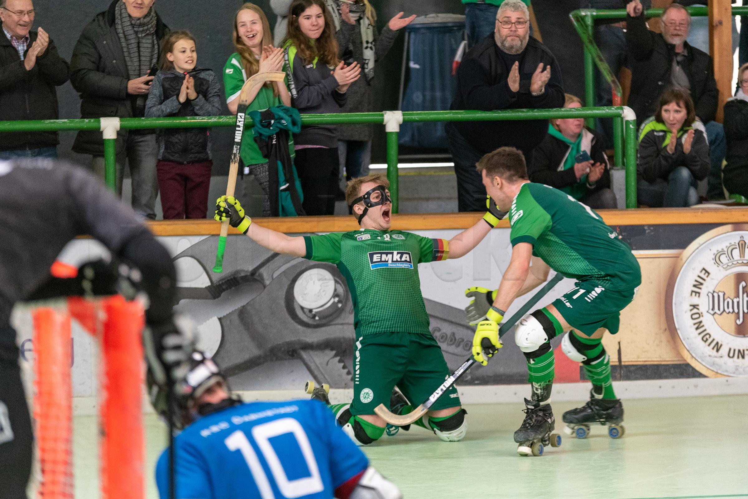 RSC Cronenberg Rollhockey Bundesliga Herren Play-Off-Viertelfinale 13.04.2019