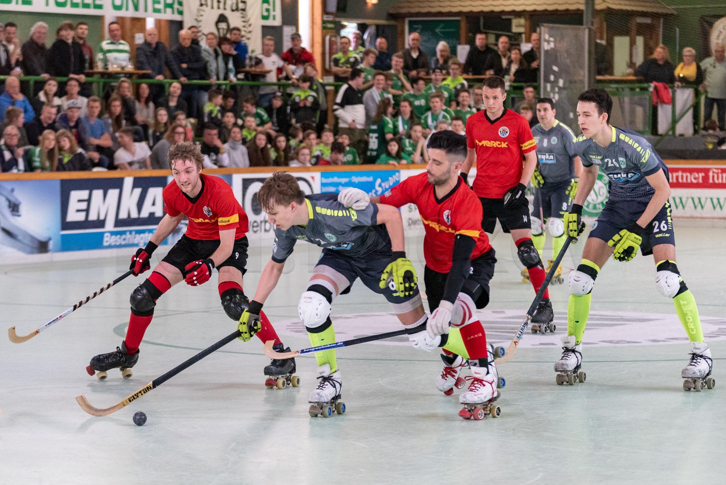 RSC Cronenberg Rollhockey Bundesliga Herren Play-Off-Viertelfinale 14.04.2019