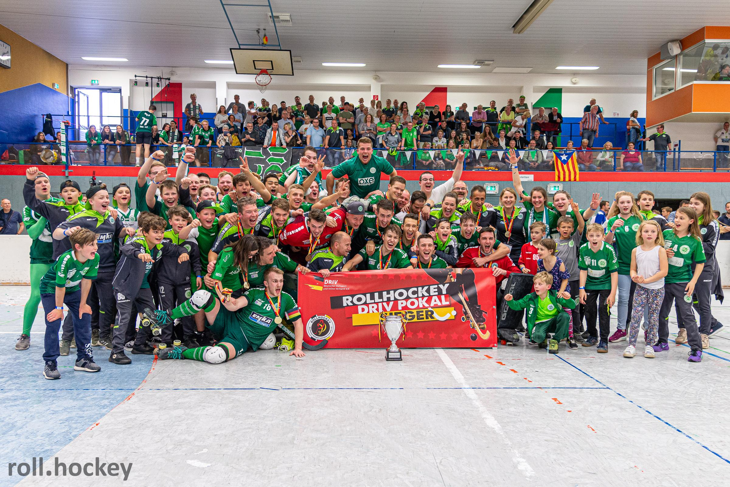 RSC Cronenberg Rollhockey DRIV-Pokal Finale Herren 26.05.2019
