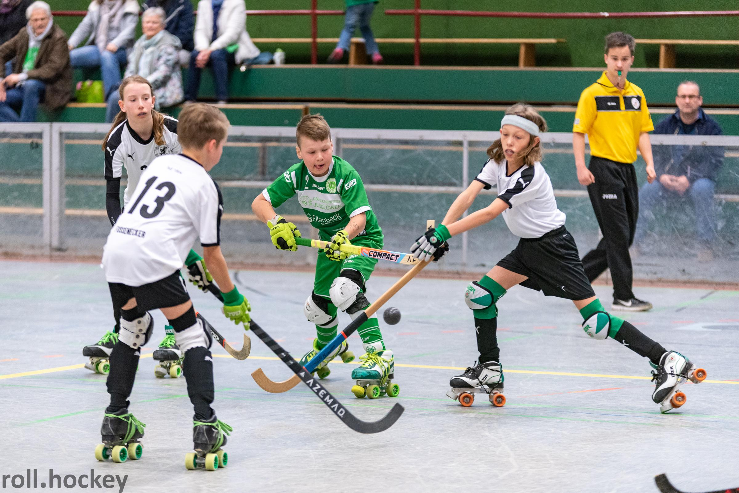 RSC Cronenberg Rollhockey Spieltag U13 05.05.2019