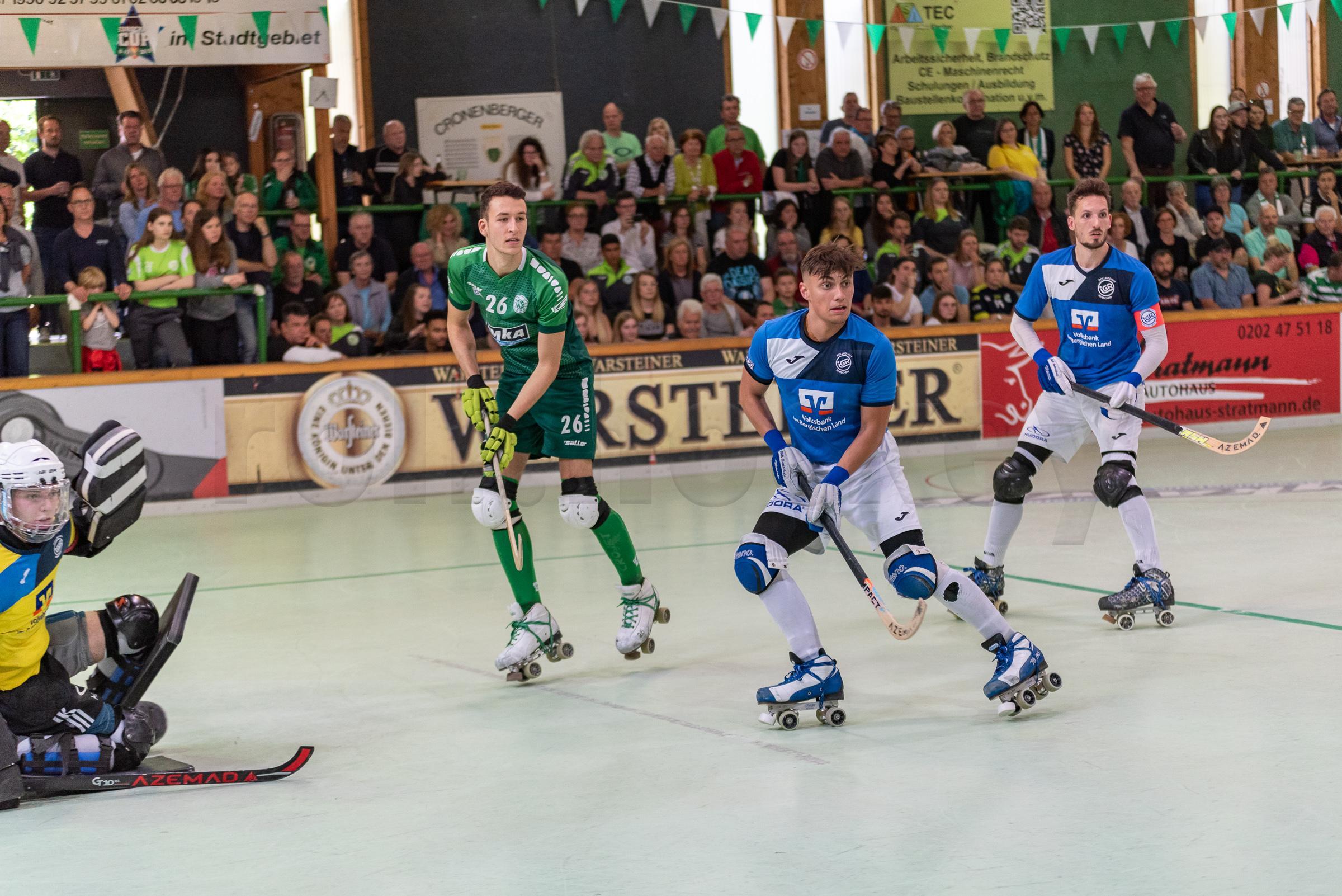 RSC Cronenberg Rollhockey DRIV-Pokal Finale Herren 25.05.2019