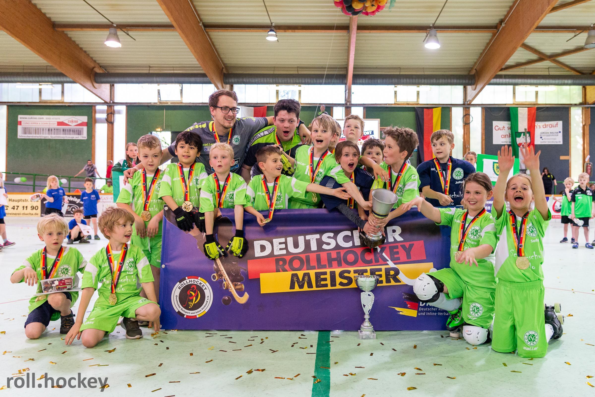 RSC Cronenberg Rollhockey Deutsche Meisterschaft U9 2019