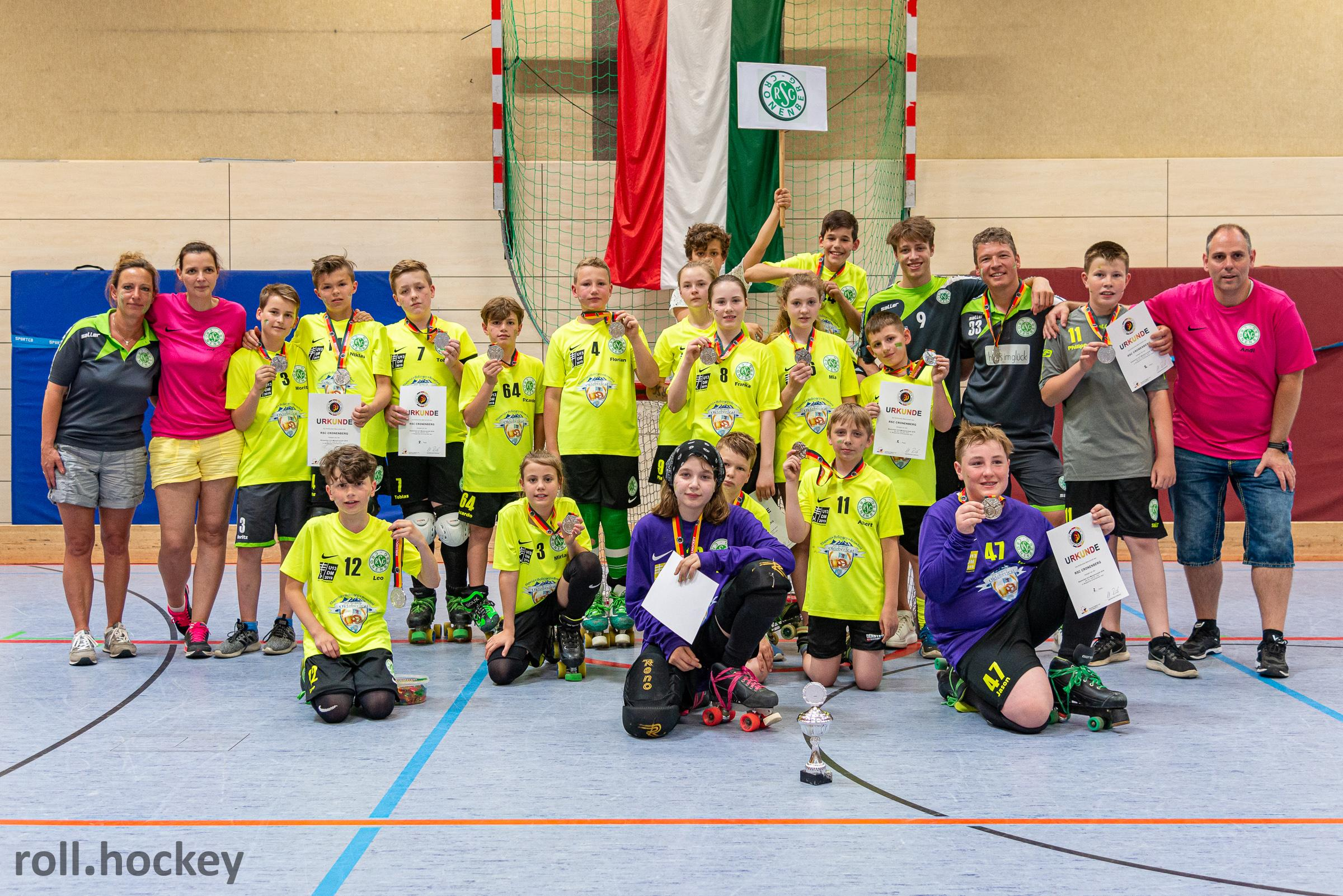 RSC Cronenberg Rollhockey Deutsche Meisterschaft U13 2019