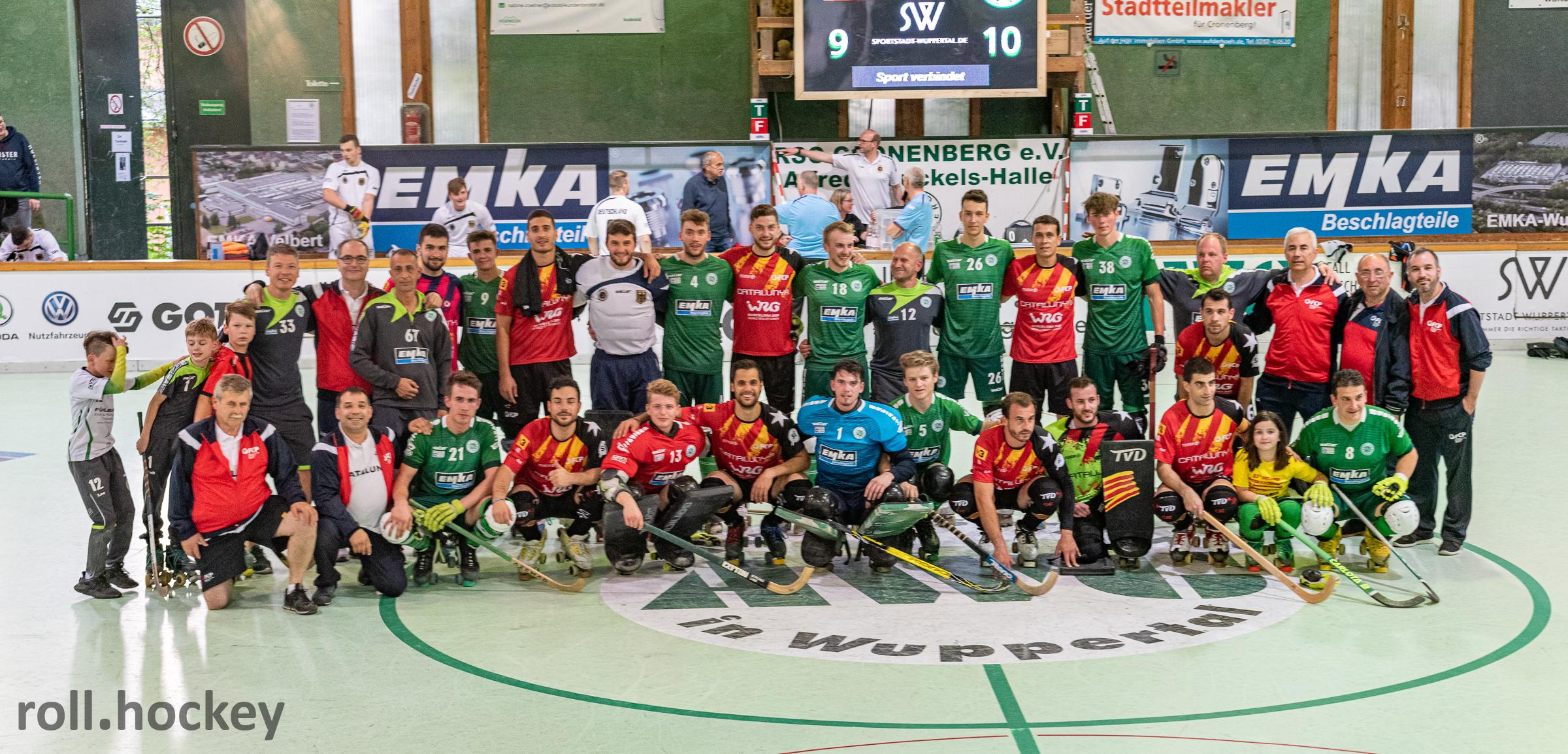 RSC Cronenberg Internationales Rollhockeyturnier Pfingsten 2019