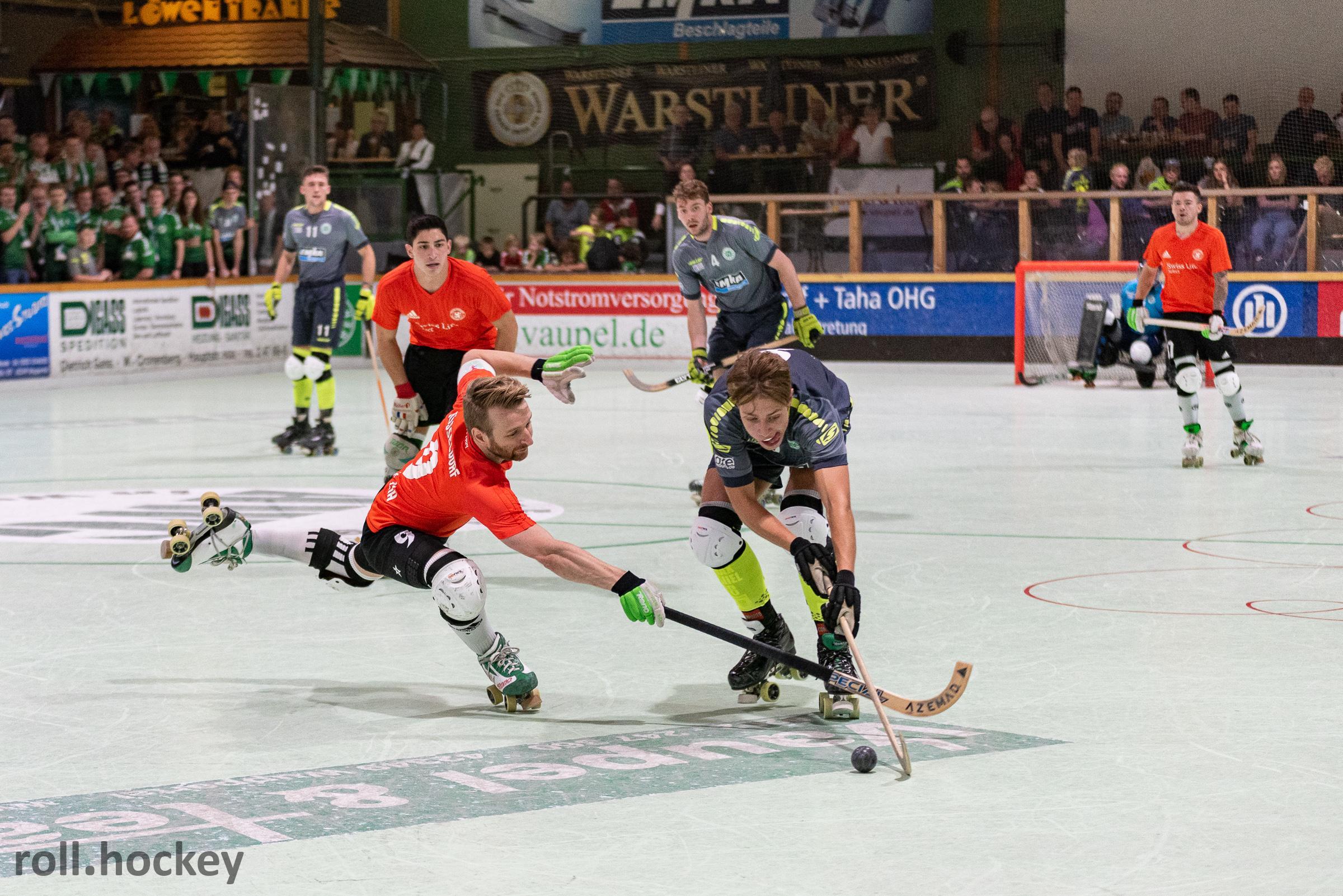 RSC Cronenberg Rollhockey Bundesliga Herren Spieltag 21.09.2019