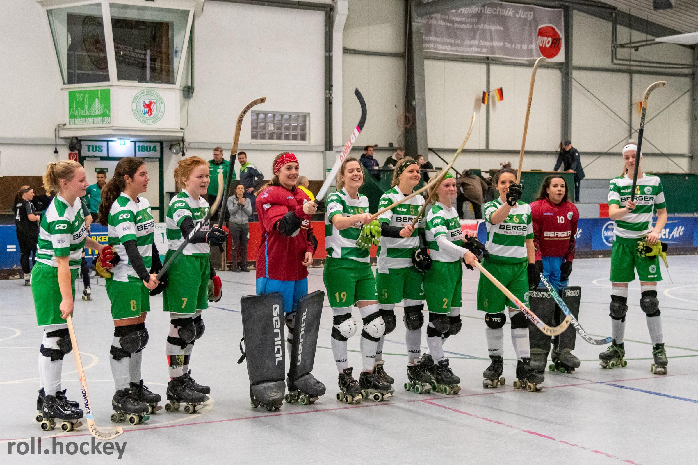 RSC Cronenberg Rollhockey Bundesliga Damen Spieltag 17.11.2019