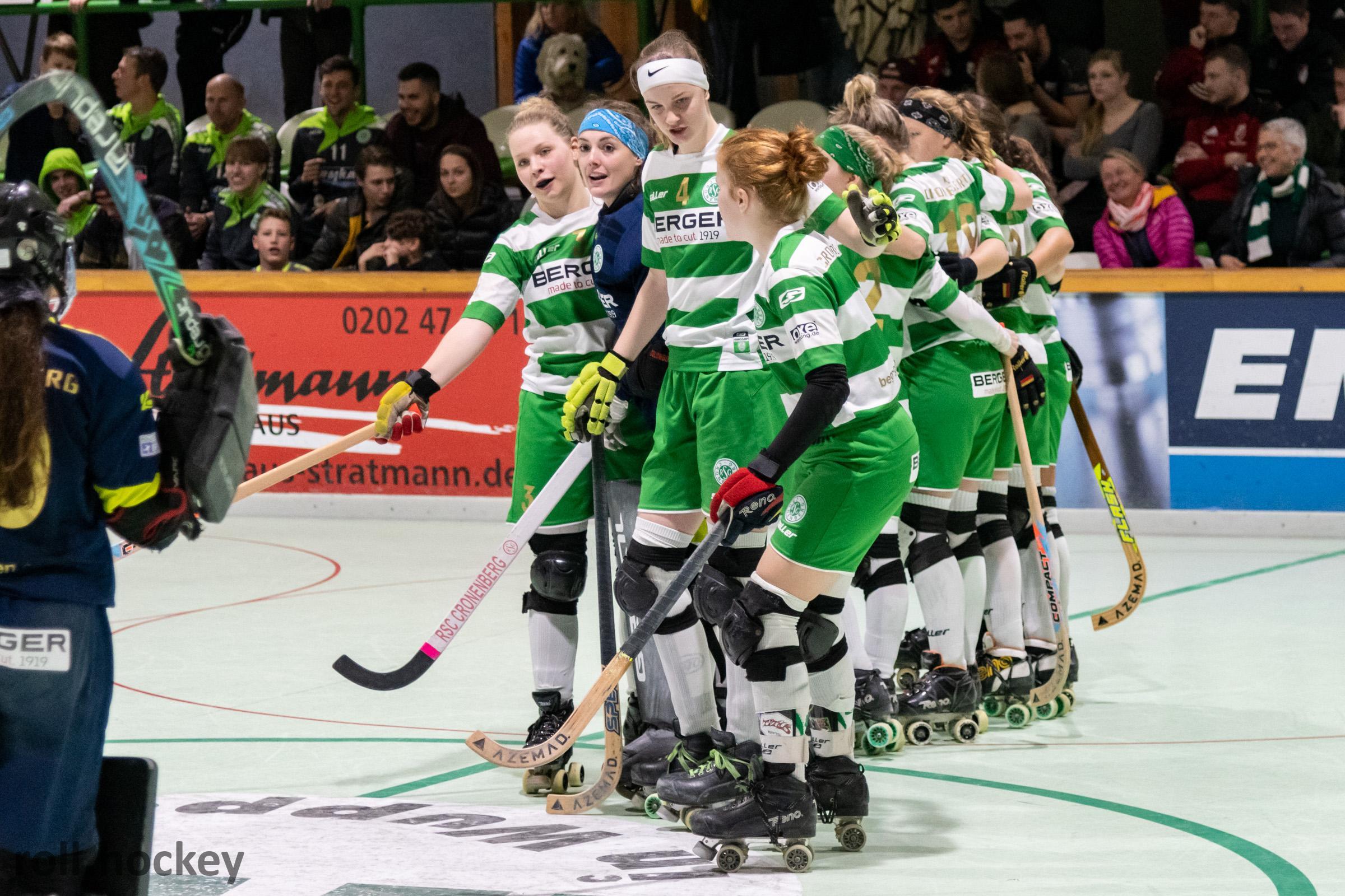 RSC Cronenberg Rollhockey Bundesliga Damen Spieltag 23.11.2019